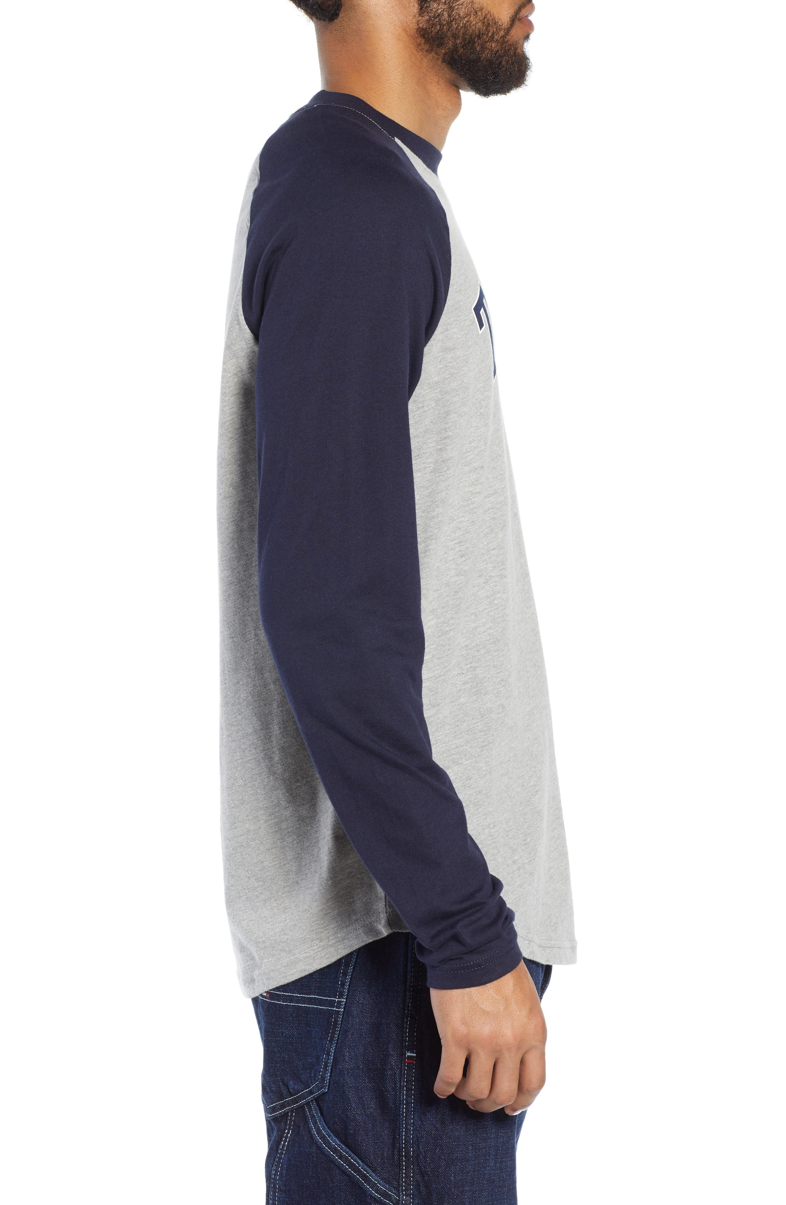 Long Sleeve Raglan T-Shirt,                             Alternate thumbnail 3, color,                             400