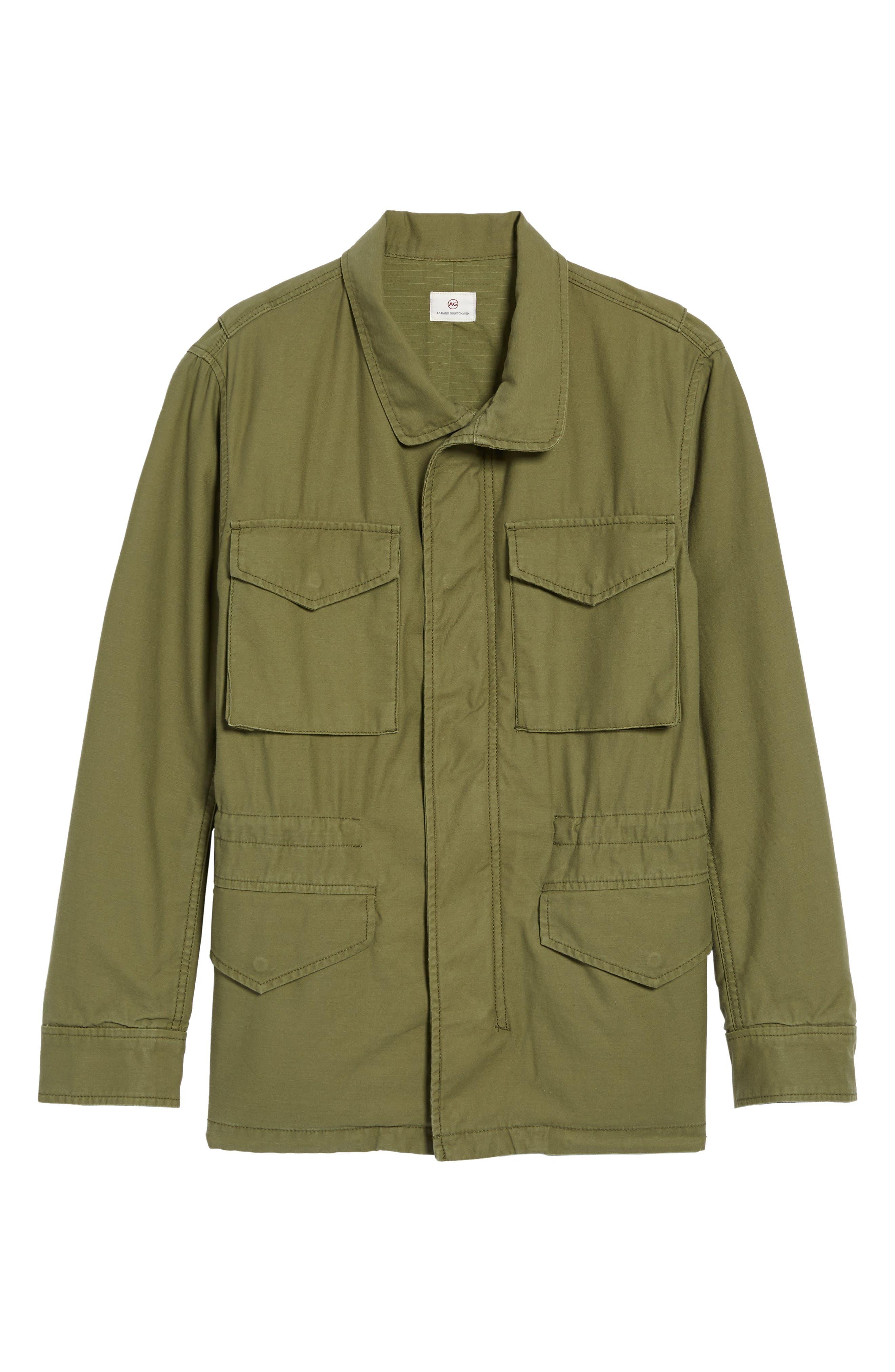 Jameson Field Jacket,                             Alternate thumbnail 5, color,                             396