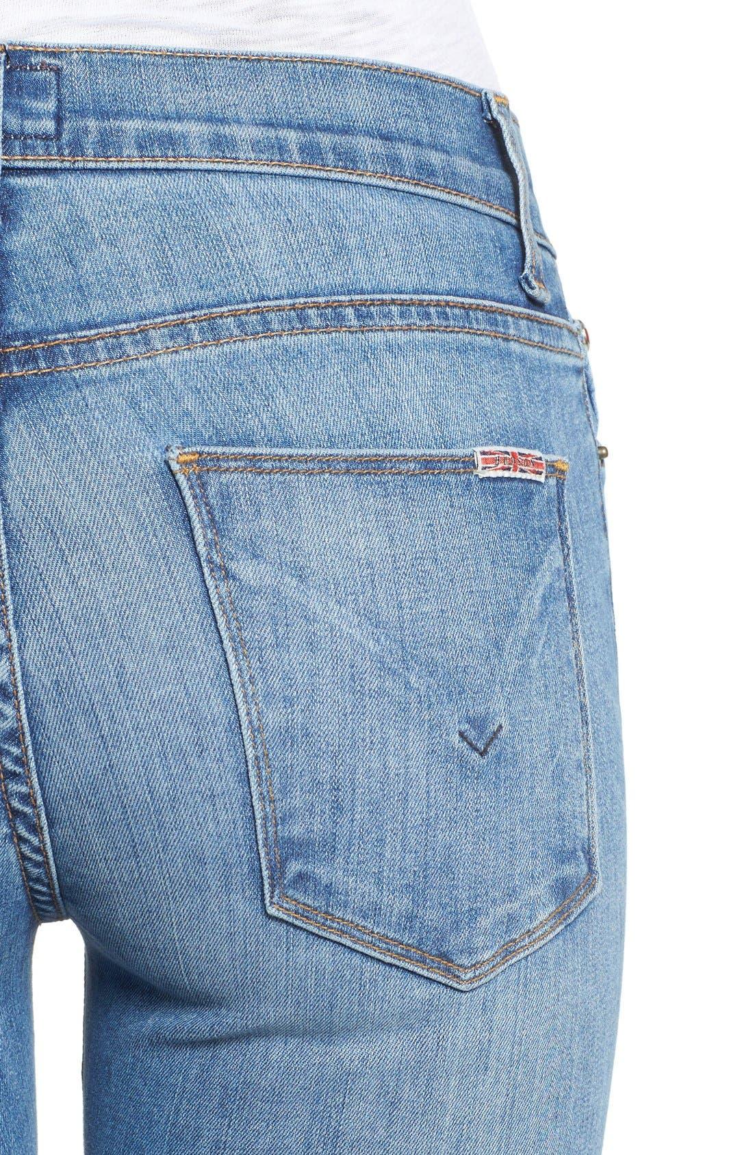 'Nico' Super Skinny Jeans,                             Alternate thumbnail 18, color,