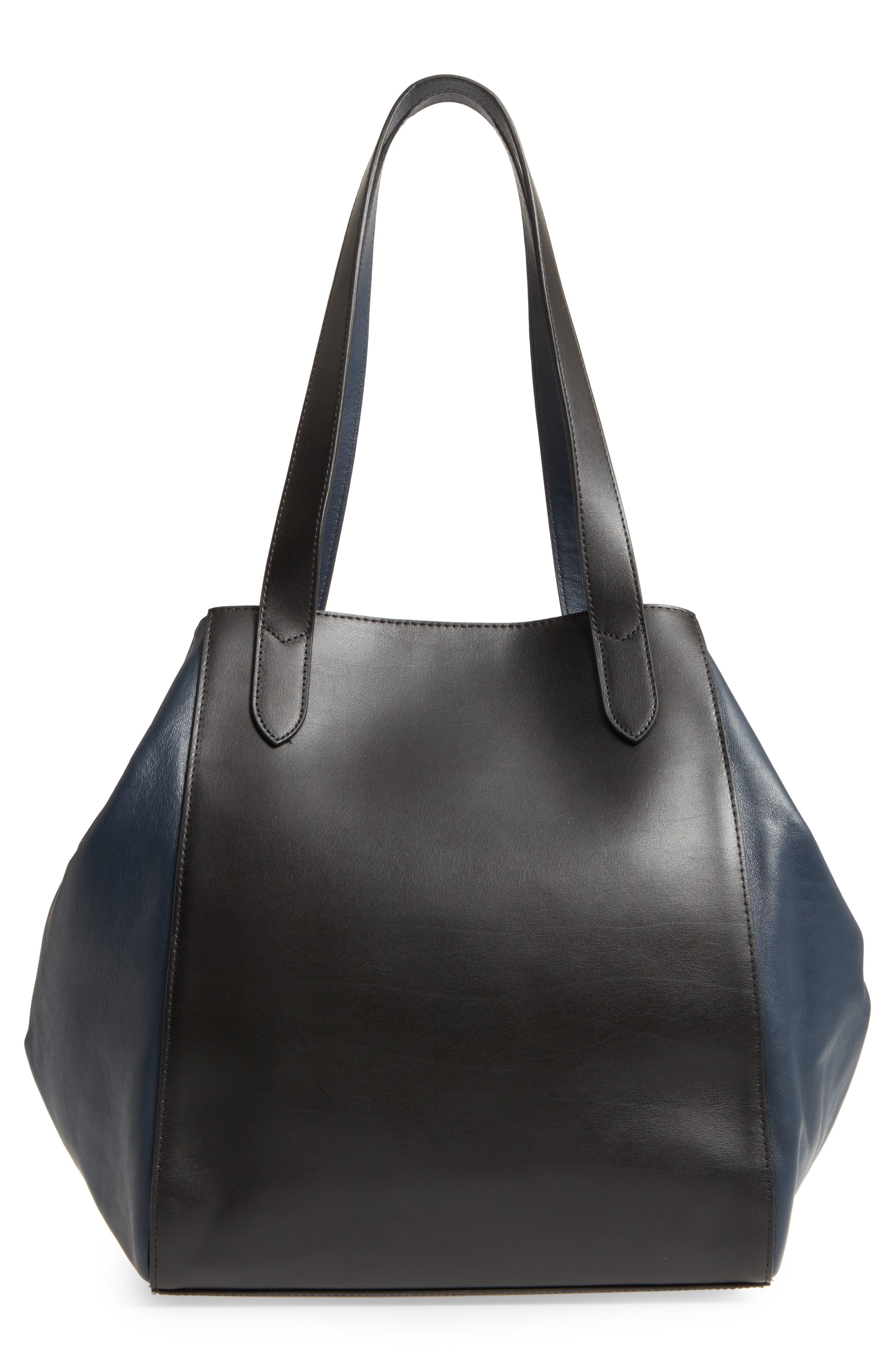 Downtown Charlize RFID Leather Tote,                             Alternate thumbnail 8, color,