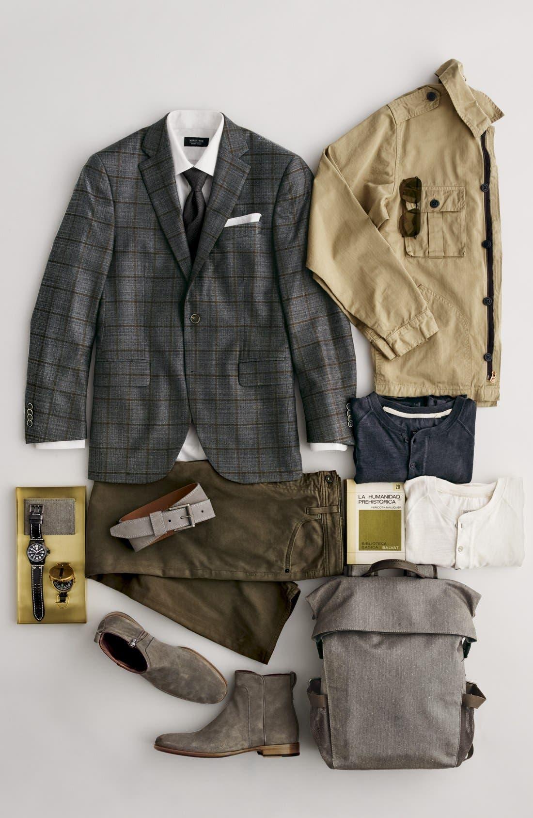 Men's Shop Cotton Handkerchief,                             Alternate thumbnail 4, color,                             100