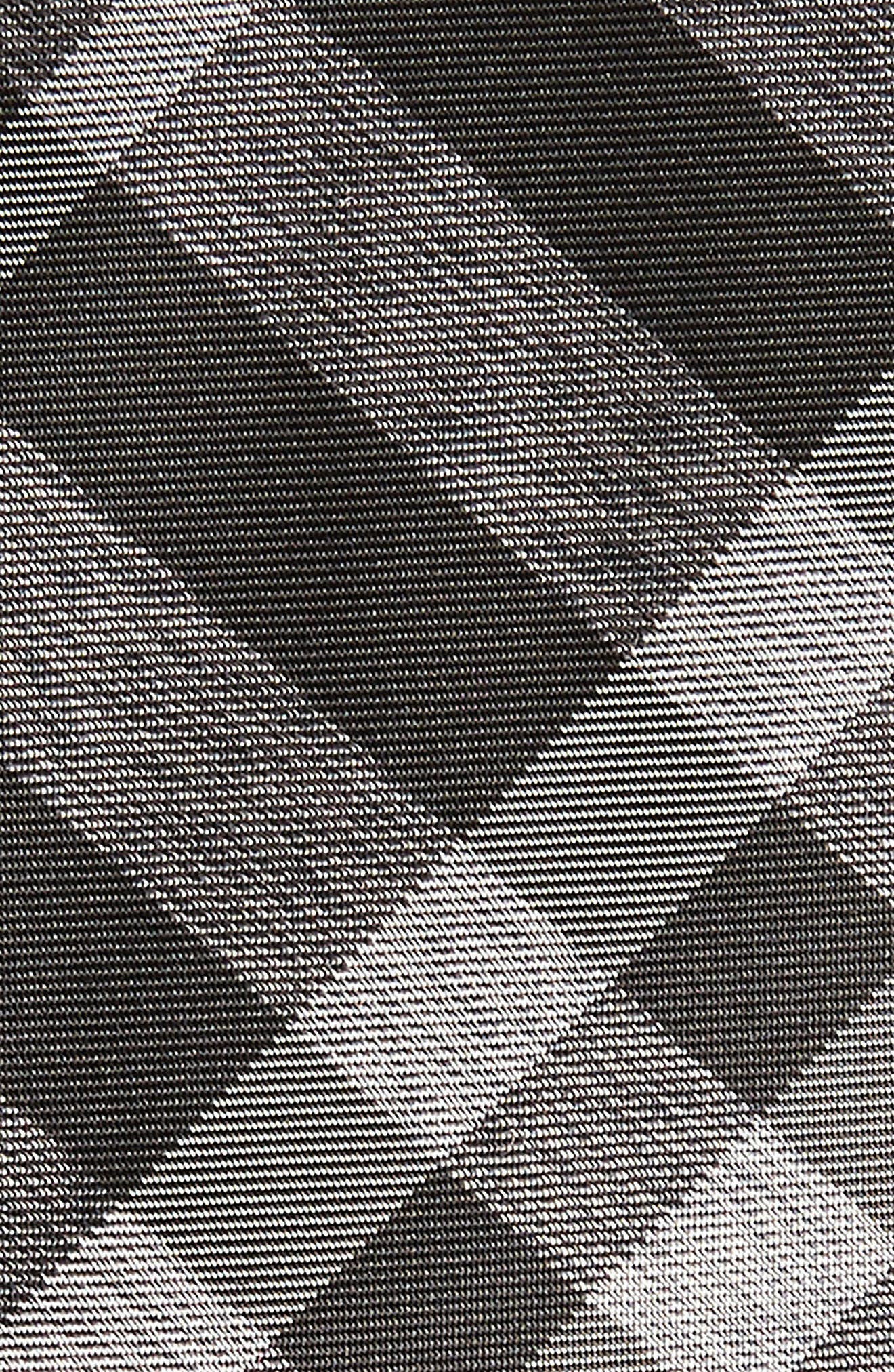 Manston Check Silk Tie,                             Alternate thumbnail 2, color,                             MINERAL GREY