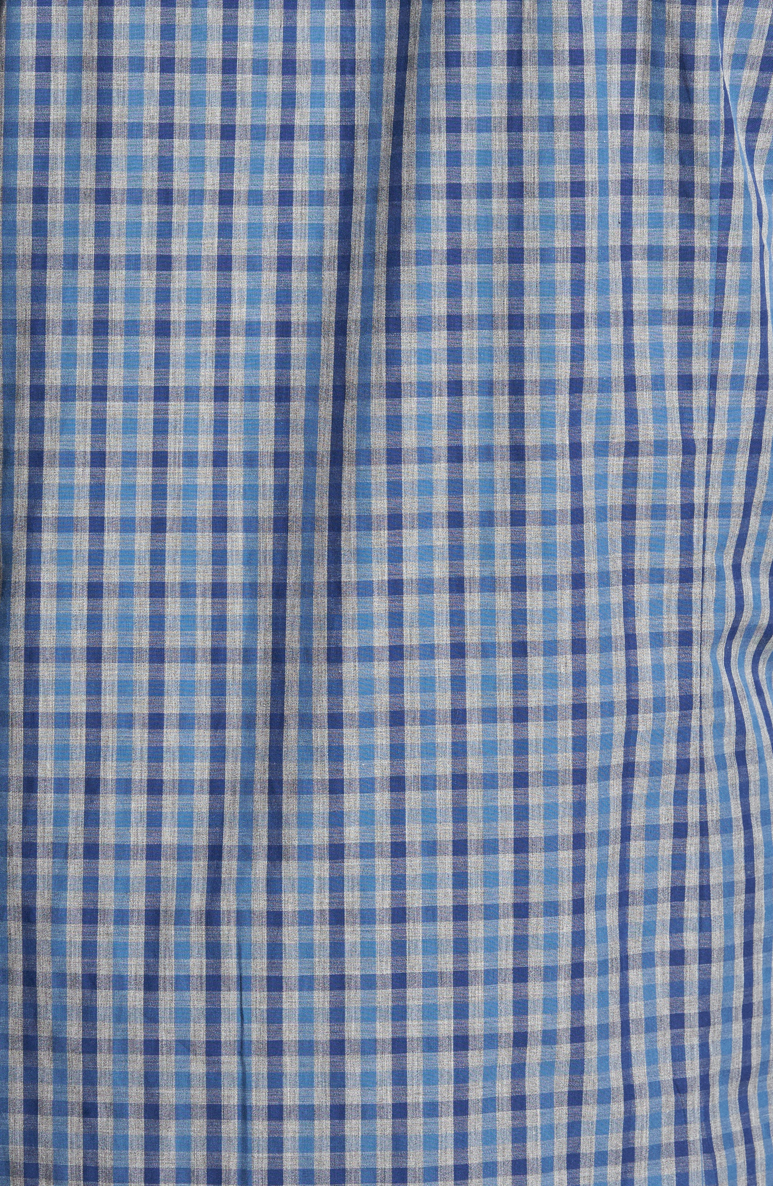 Slim Fit Check Sport Shirt,                             Alternate thumbnail 5, color,                             024