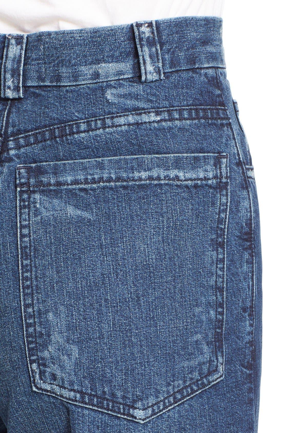 Legion Wide Leg Denim Pants,                             Alternate thumbnail 16, color,