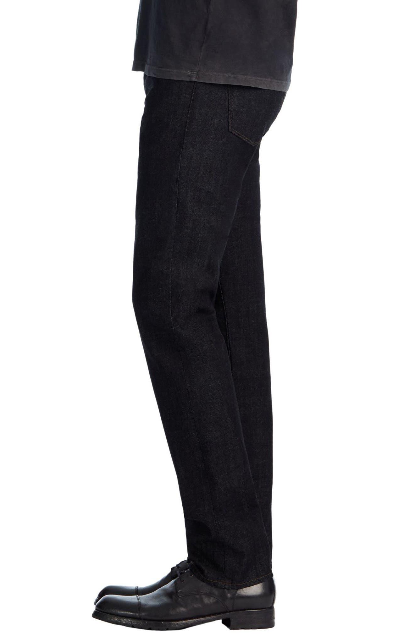Kane Slim Straight Leg Jeans,                             Alternate thumbnail 4, color,                             410