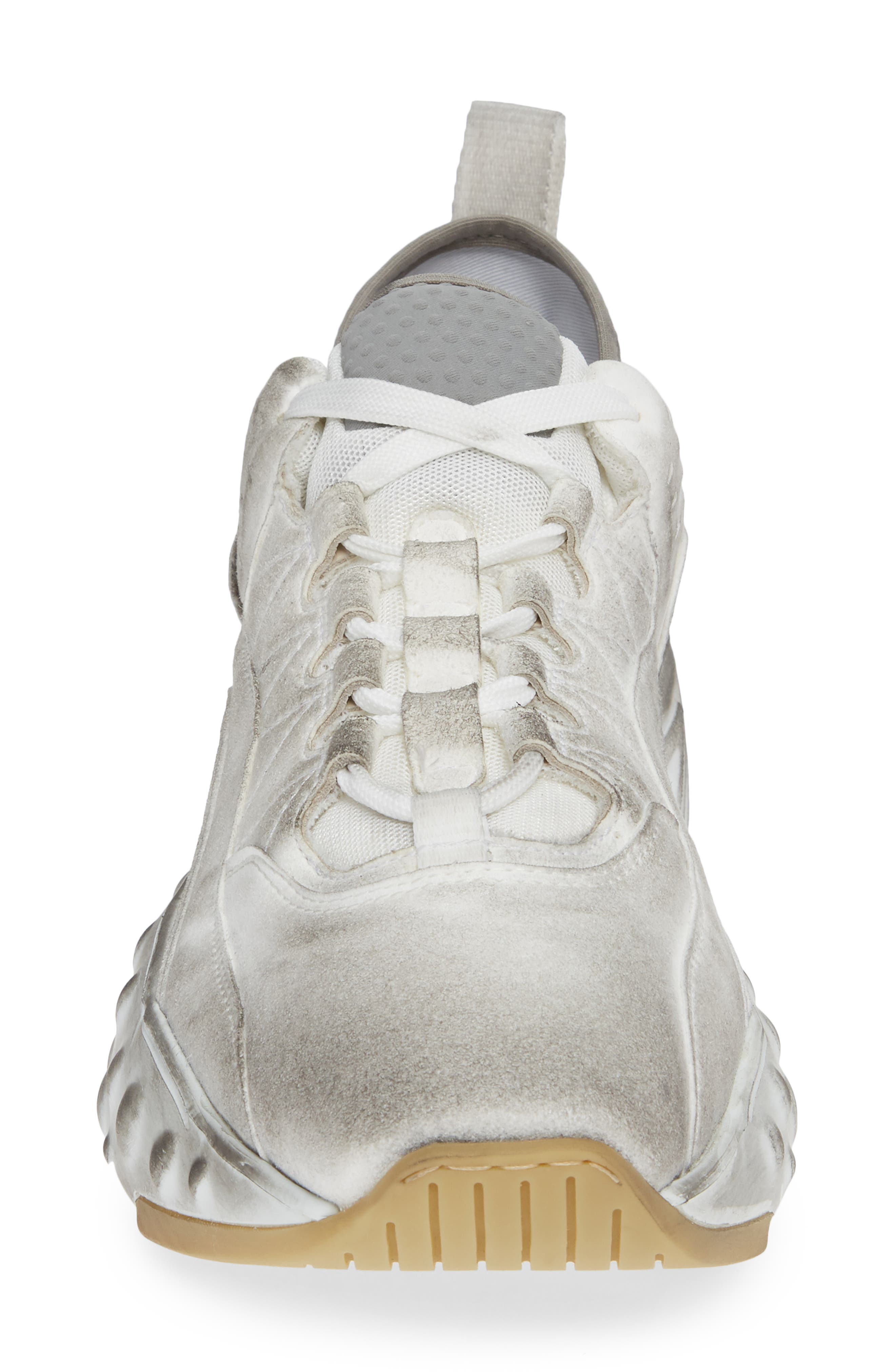 Rockaway Built-Up Sneaker,                             Alternate thumbnail 4, color,                             WHITE