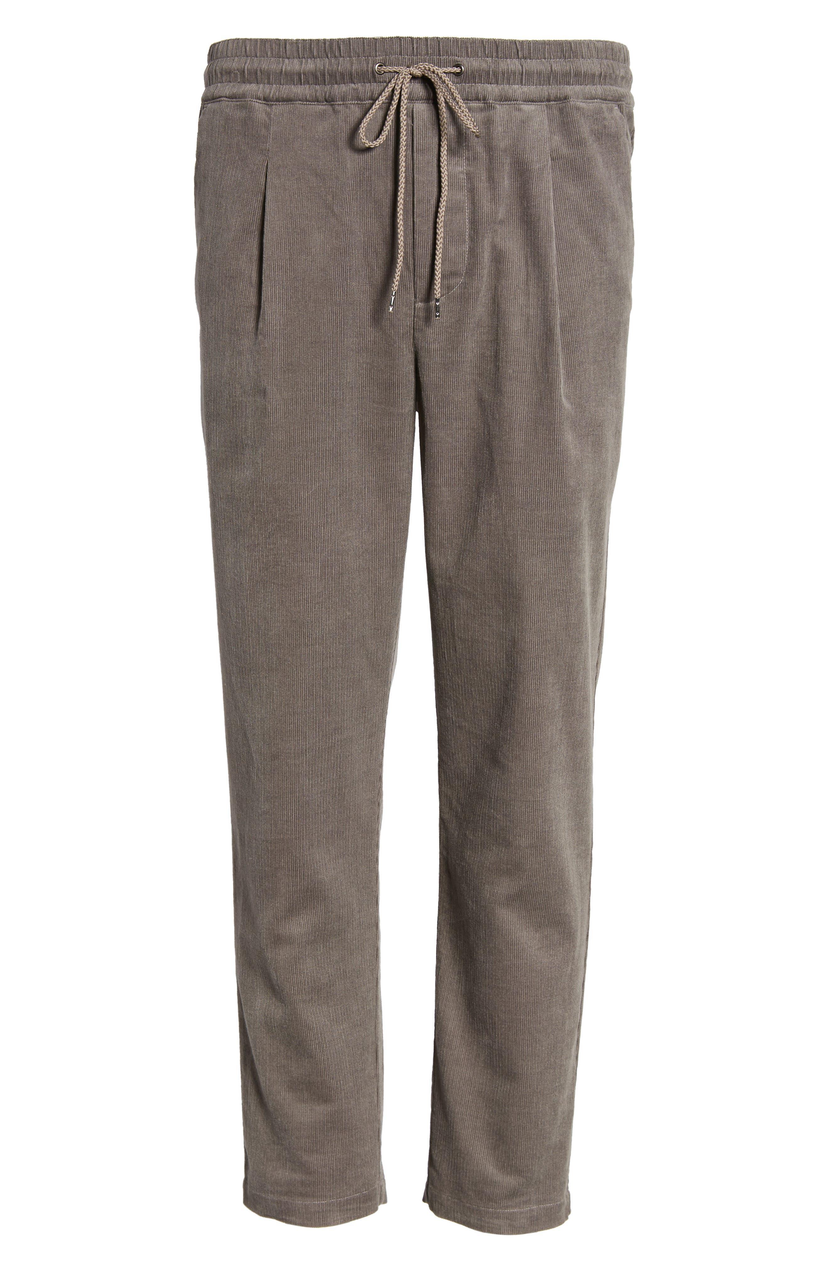 Astbury Crop Corduroy Pants,                             Alternate thumbnail 6, color,                             024