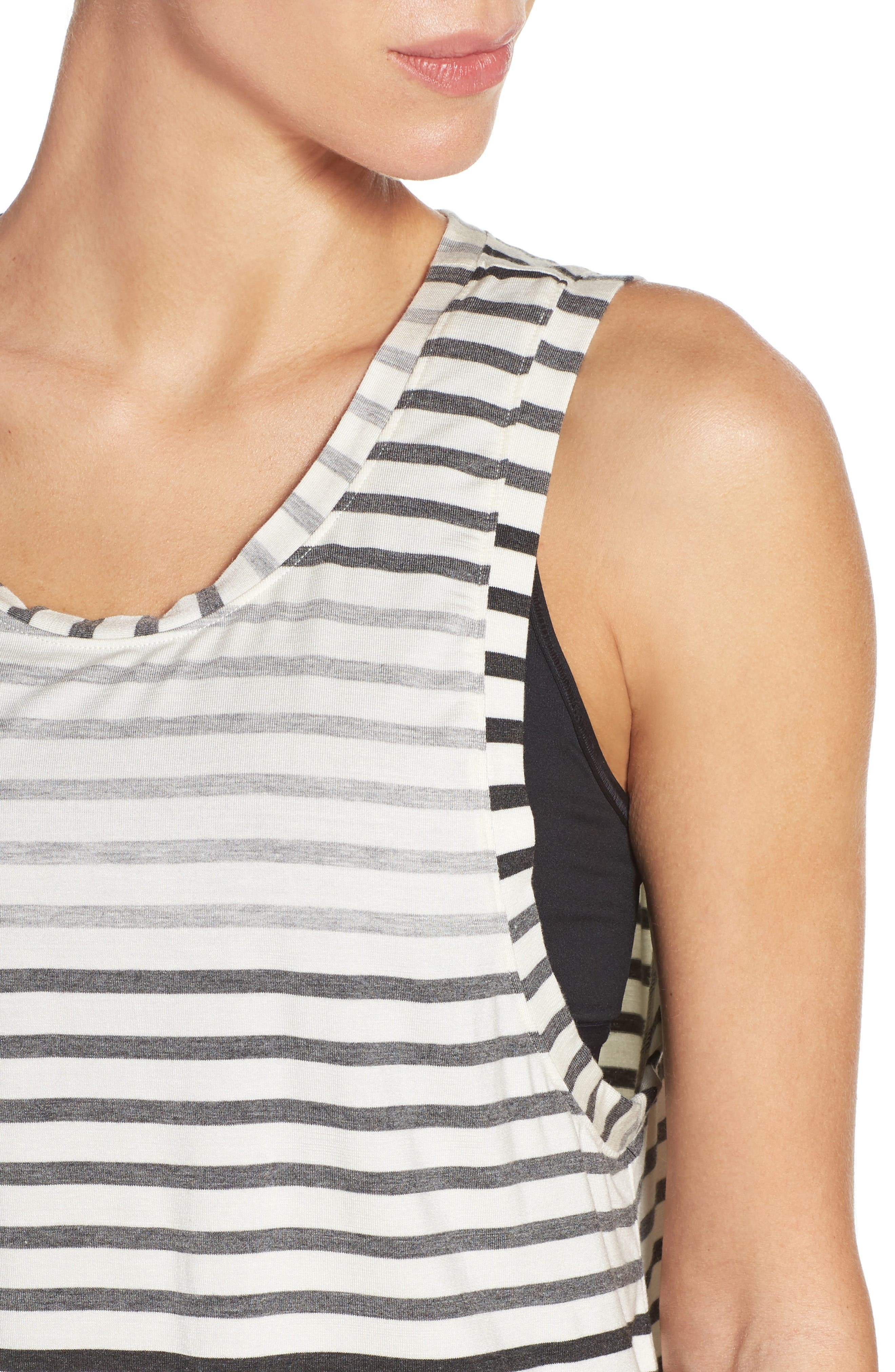 Bring It Ombré Muscle Tee,                             Alternate thumbnail 4, color,                             020