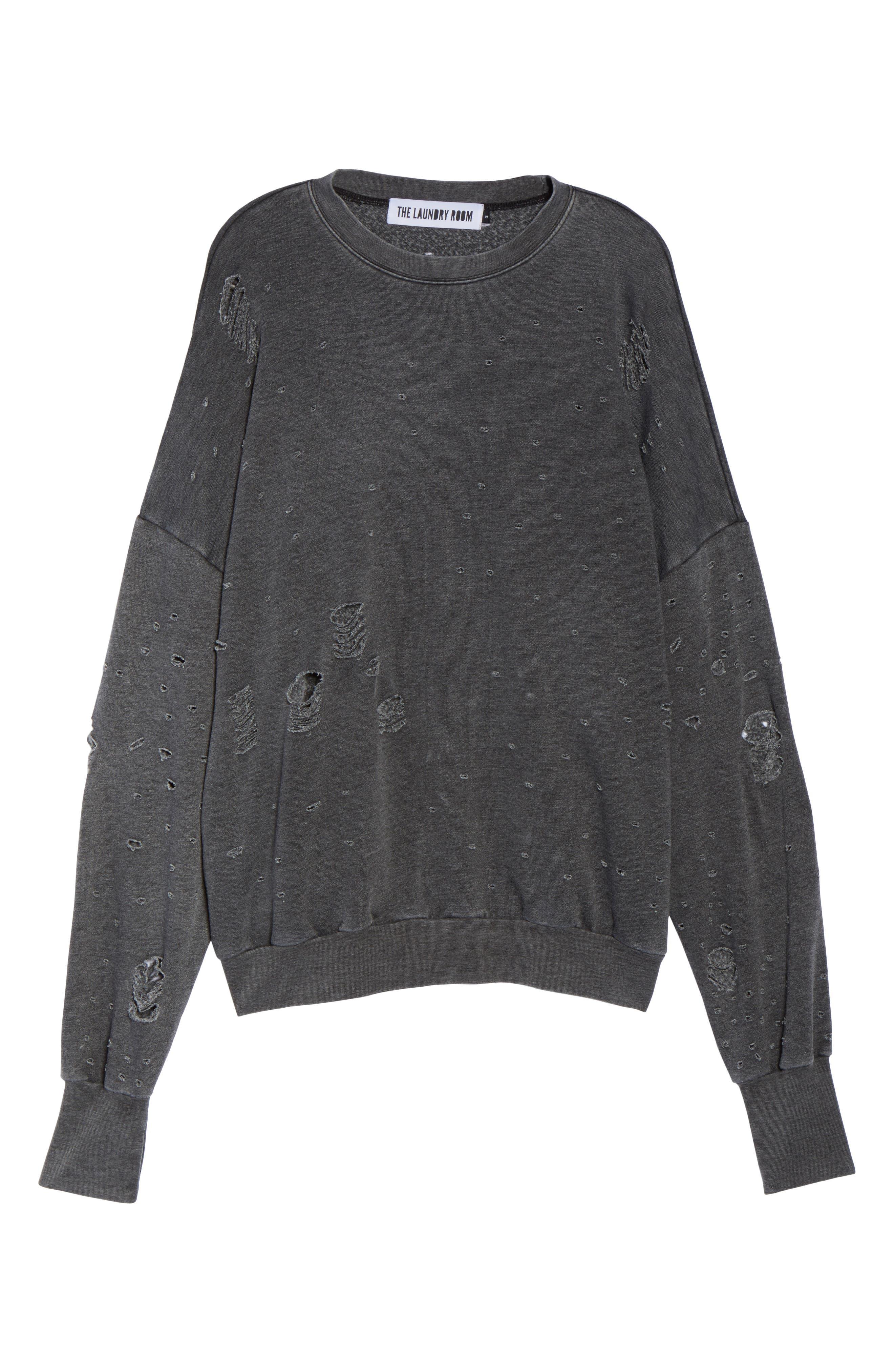 Thrasher Sweatshirt,                             Alternate thumbnail 6, color,                             020