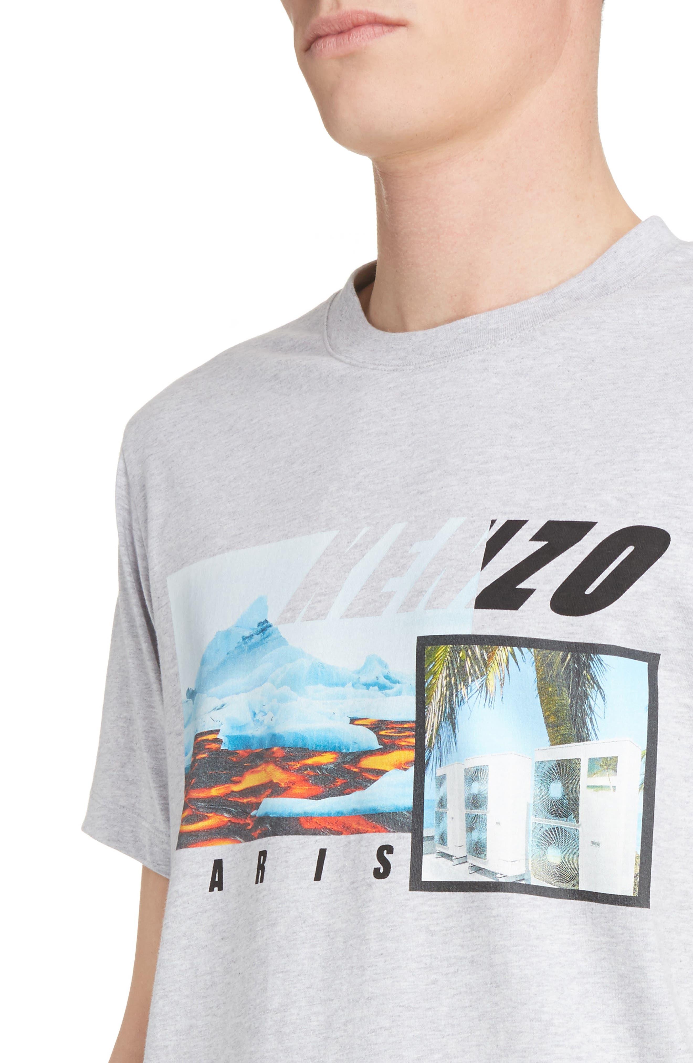 Graphic T-Shirt,                             Alternate thumbnail 4, color,                             100