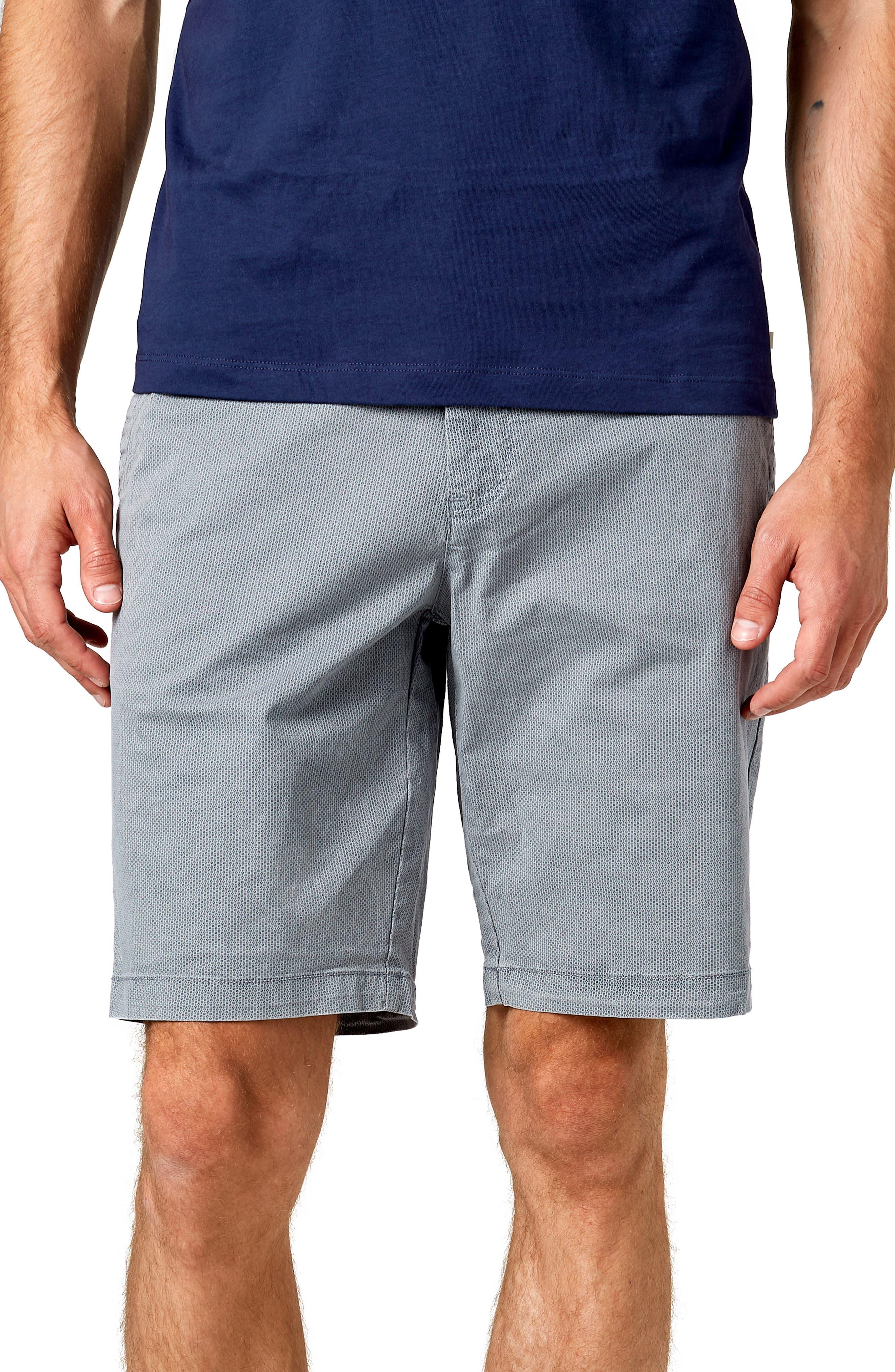 Acceleration Print Shorts,                         Main,                         color, GREY
