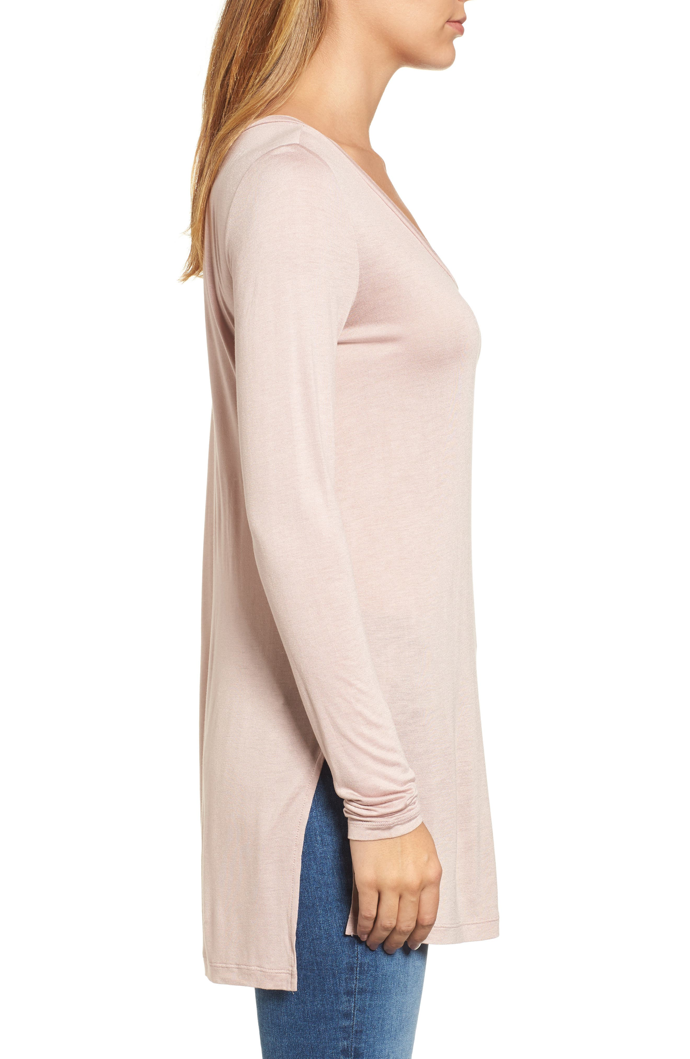 Long Sleeve Lightweight Tunic,                             Alternate thumbnail 22, color,