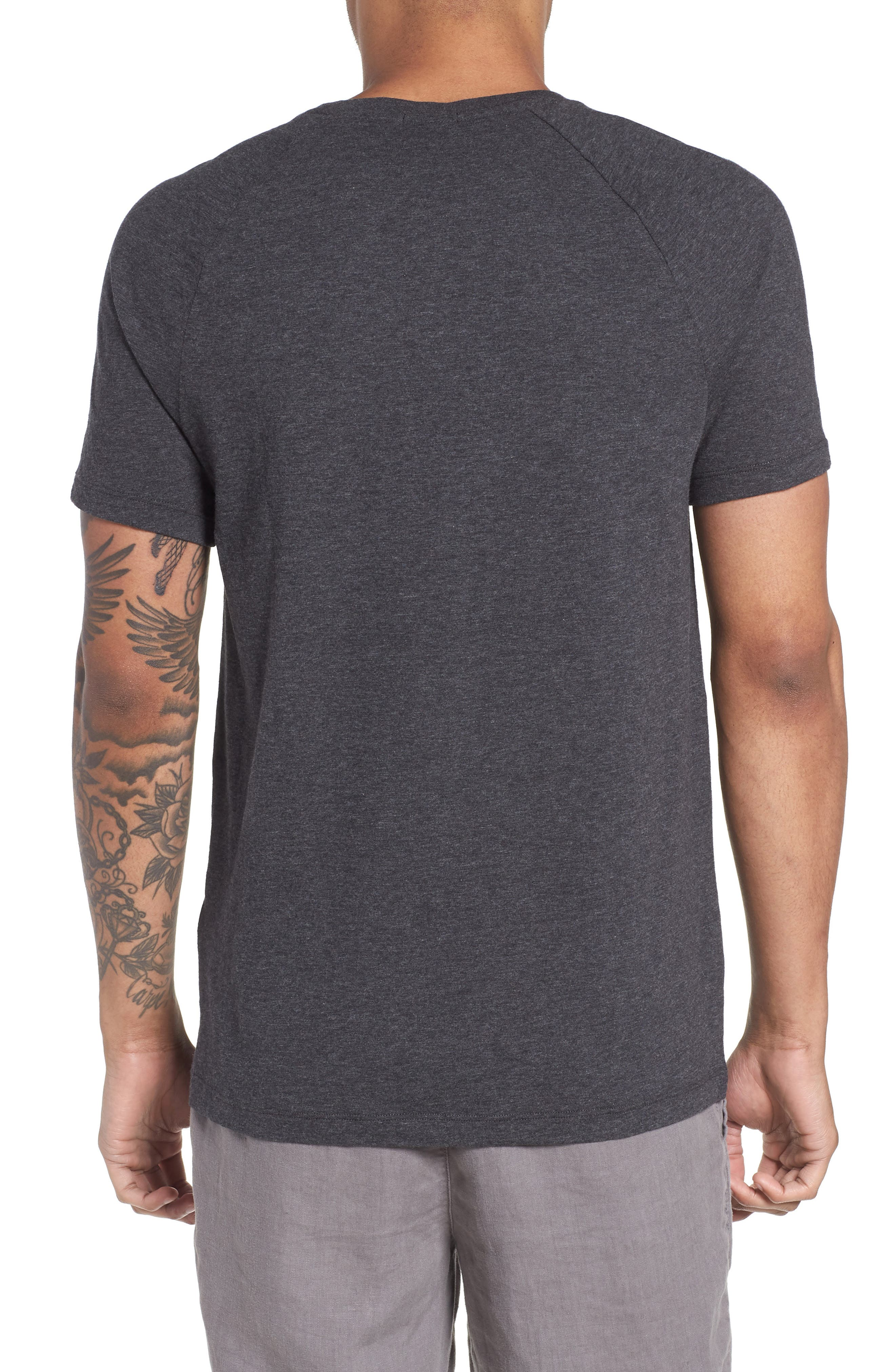 Tessler Slim Fit Pocket T-Shirt,                             Alternate thumbnail 2, color,                             001