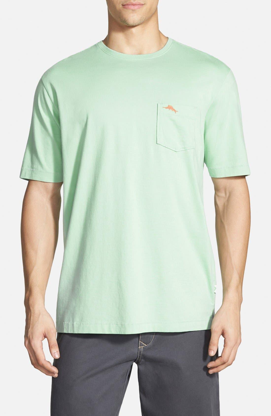 New Bali Sky Pima Cotton Pocket T-Shirt,                             Main thumbnail 11, color,