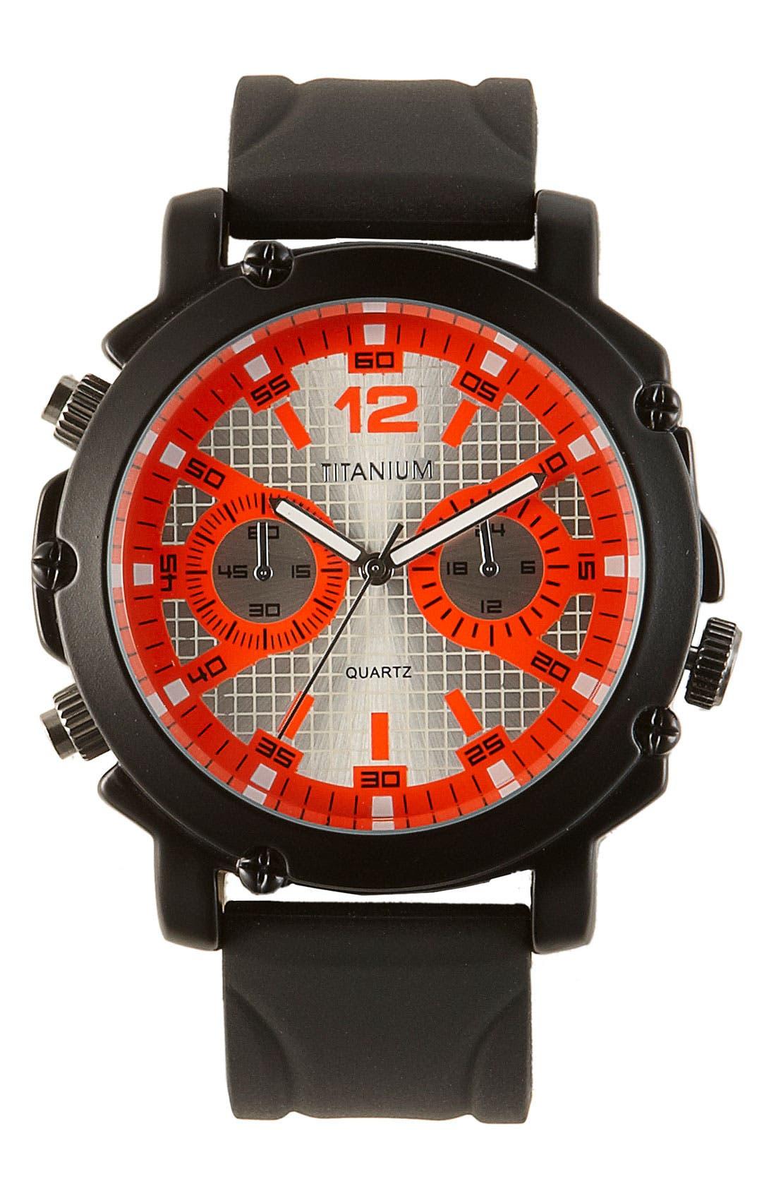 Neon Marker Analog Watch, 50mm,                             Main thumbnail 4, color,