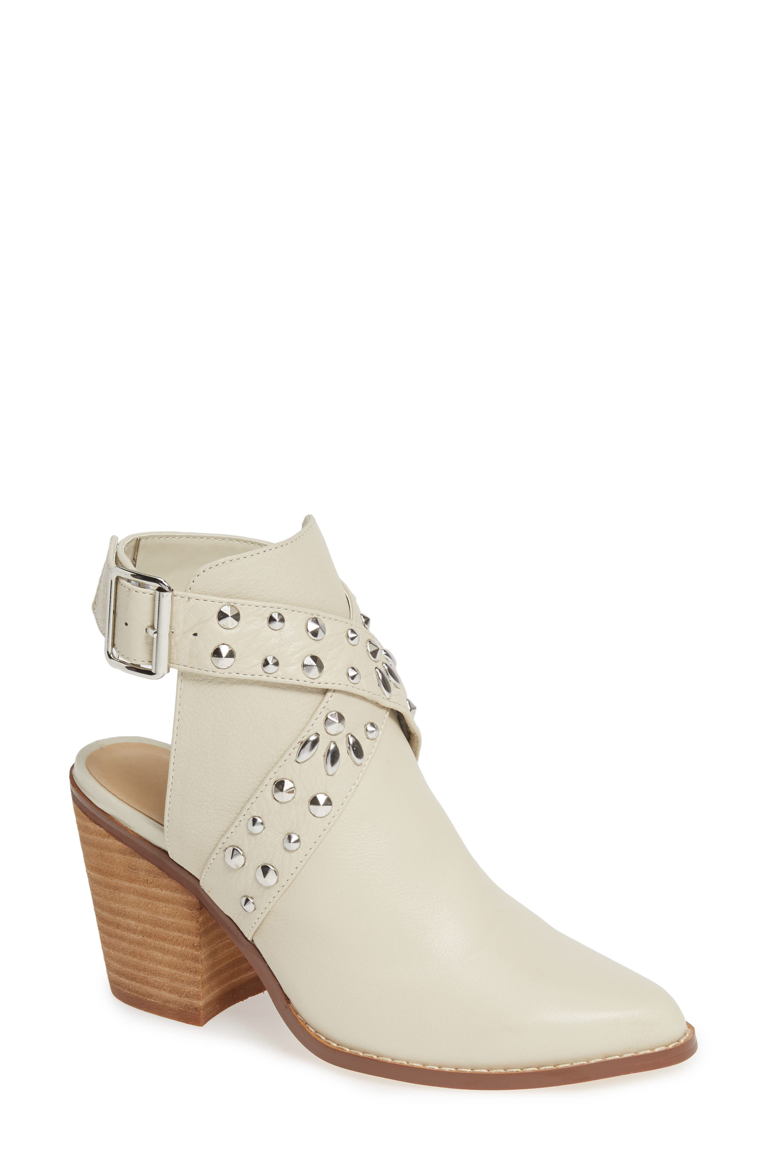 Chinese Laundry Small Town Studded Bootie, White
