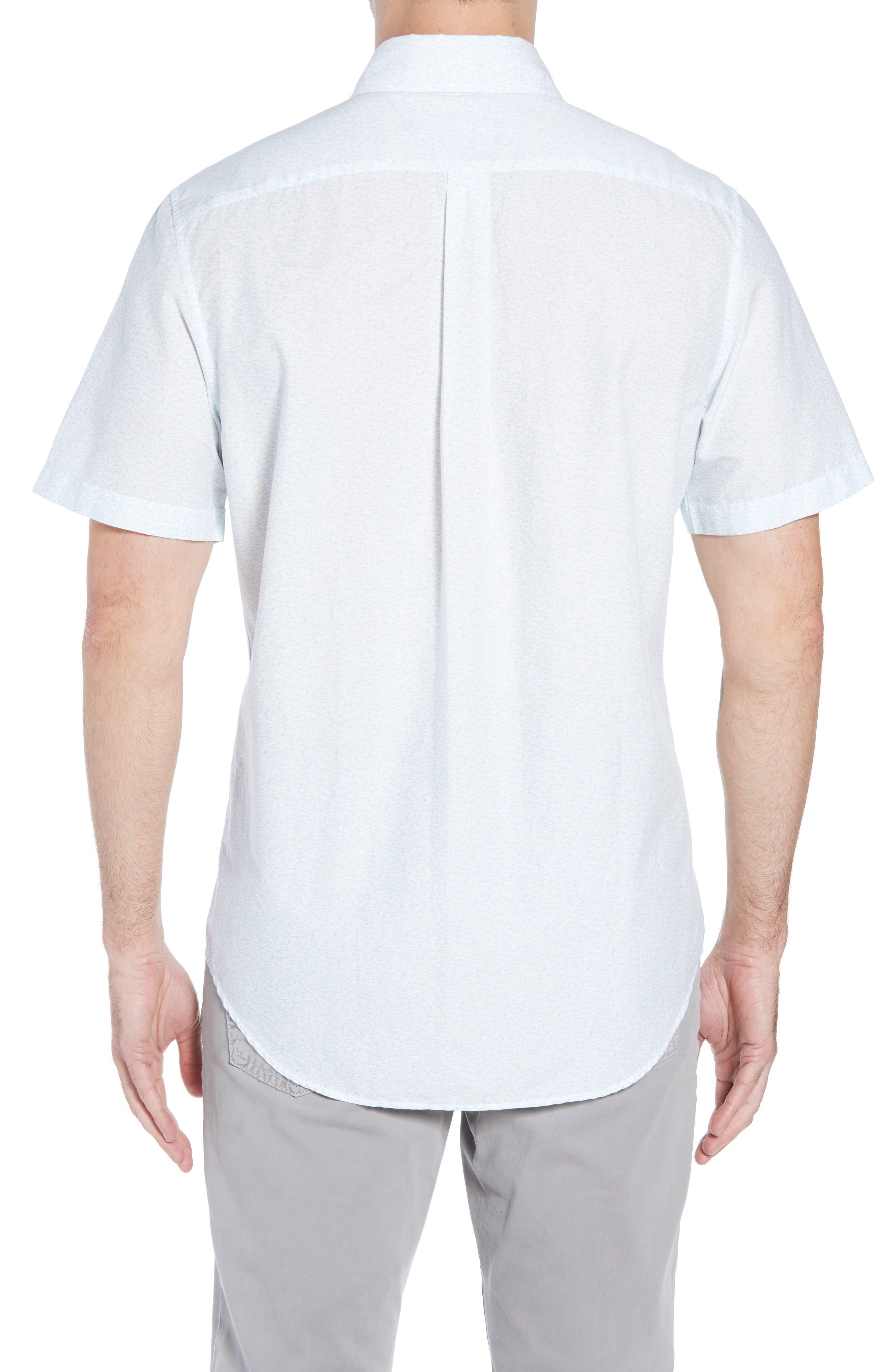 Cape Codder Slim Tucker Sport Shirt,                             Alternate thumbnail 2, color,                             100
