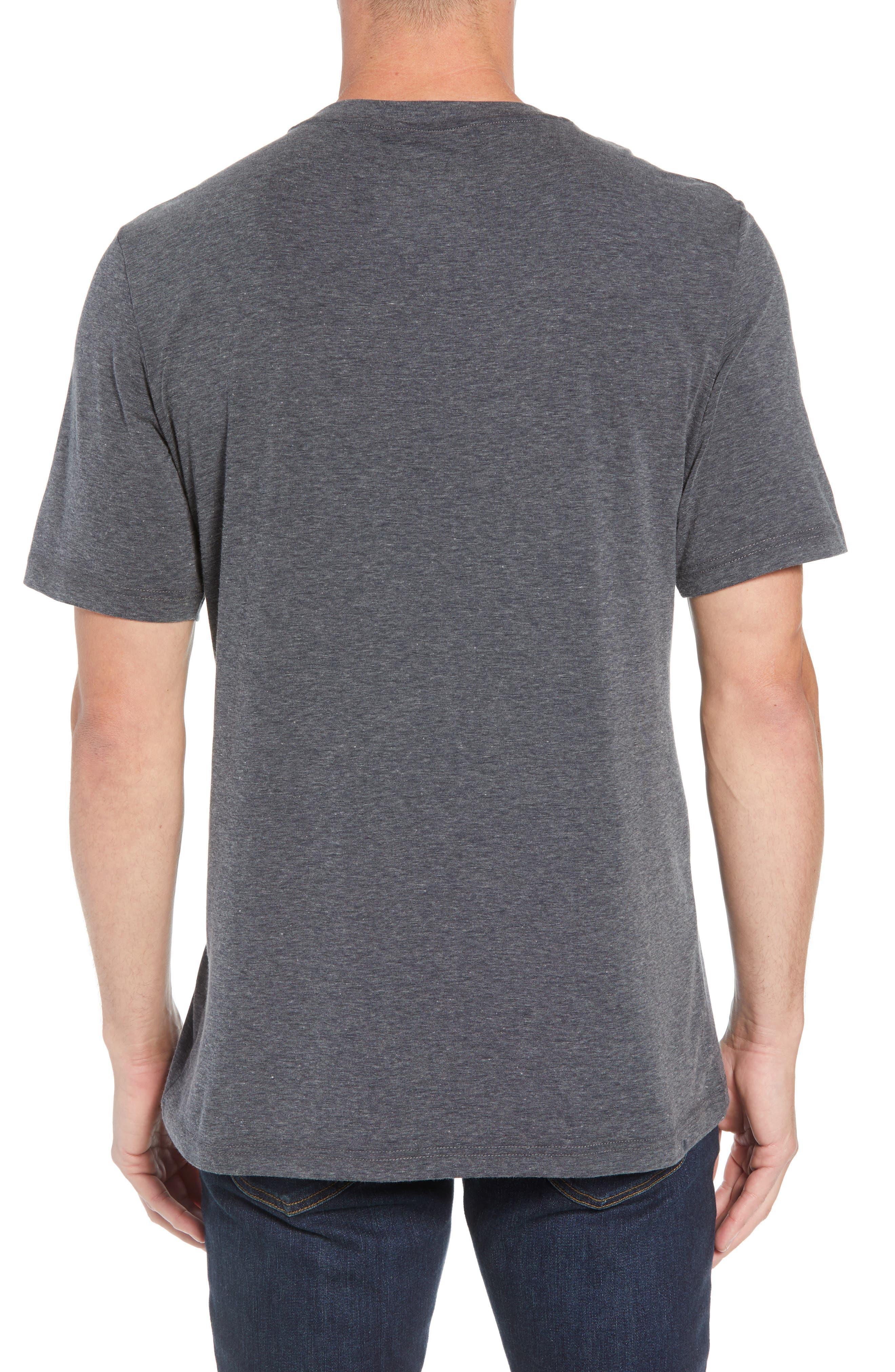 Recline Performance T-Shirt,                             Alternate thumbnail 2, color,                             HEATHER MAGNET