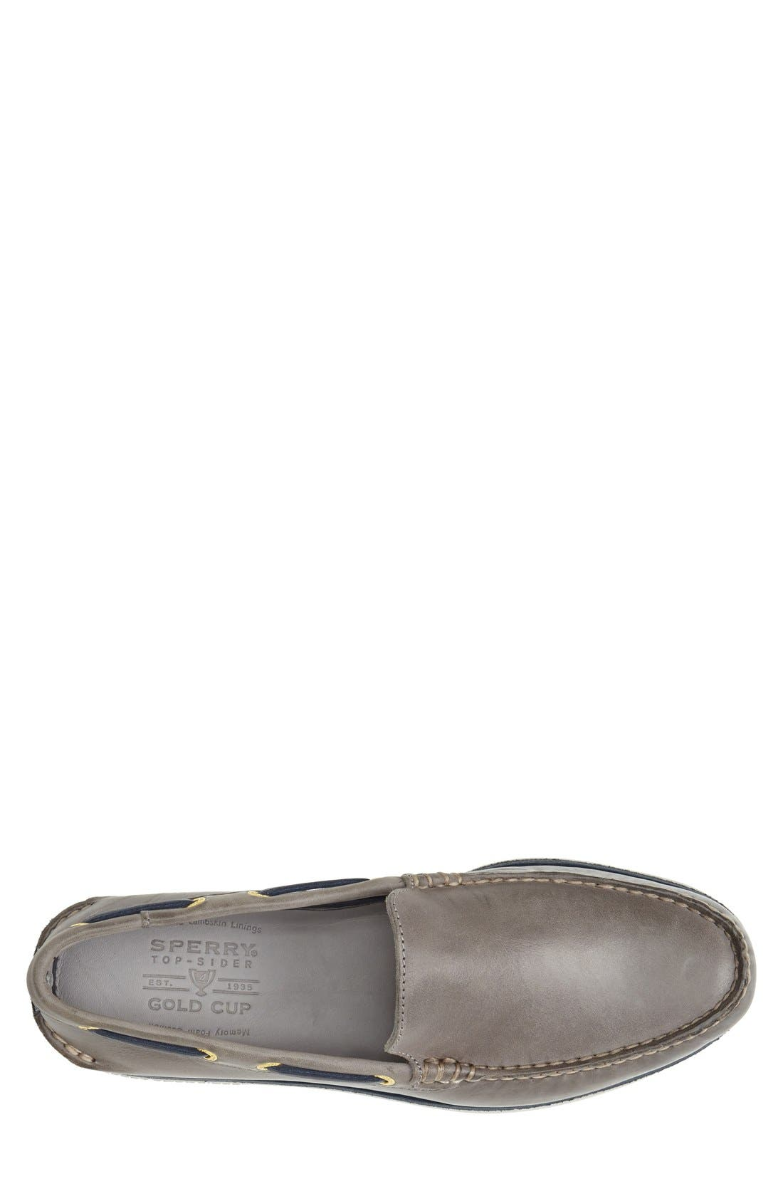 Top-Sider<sup>®</sup> 'Gold Cup - Authentic Original' Boat Shoe,                             Alternate thumbnail 3, color,                             020