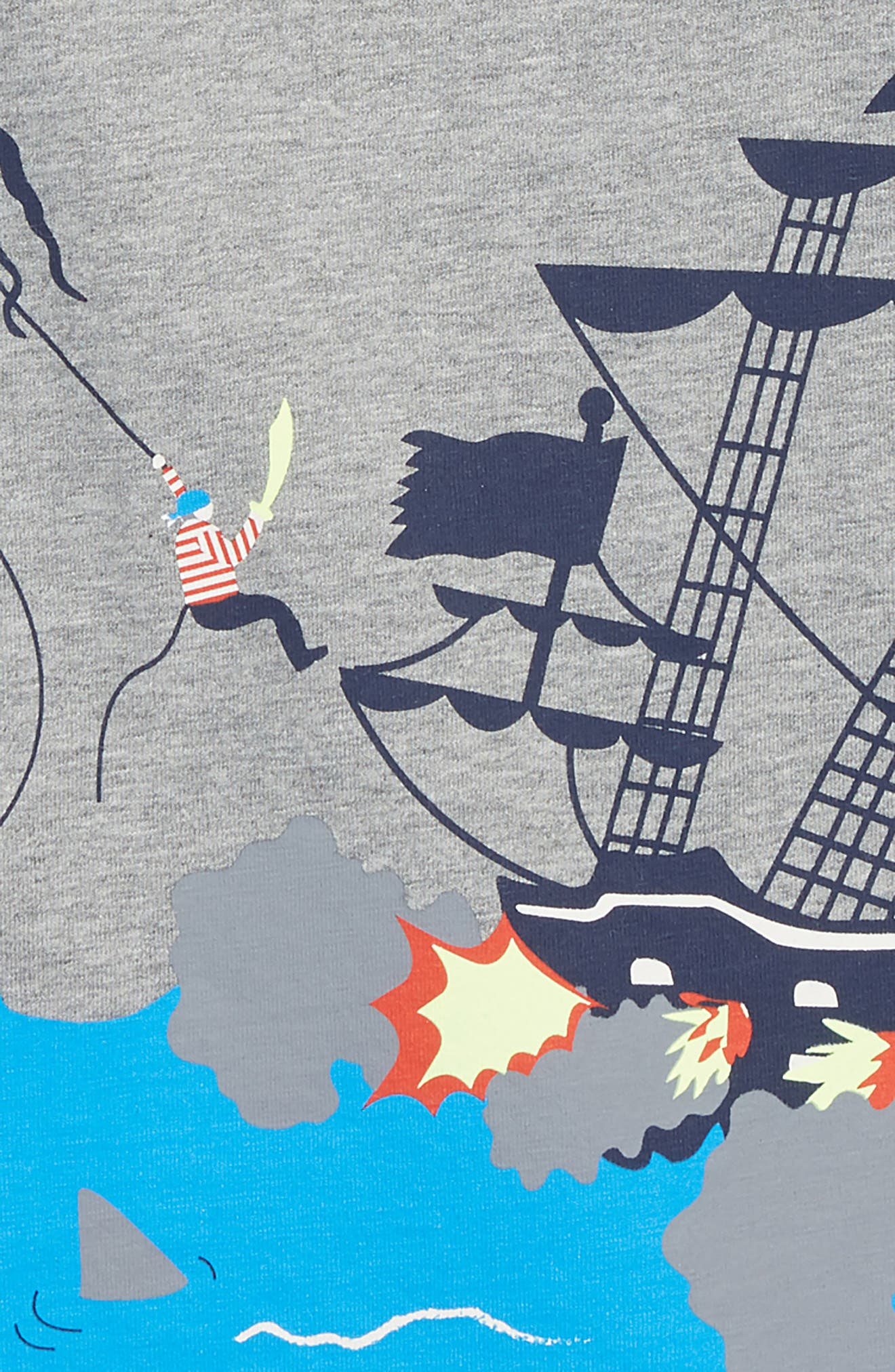 Pirate Warfare T-Shirt,                             Alternate thumbnail 2, color,                             034