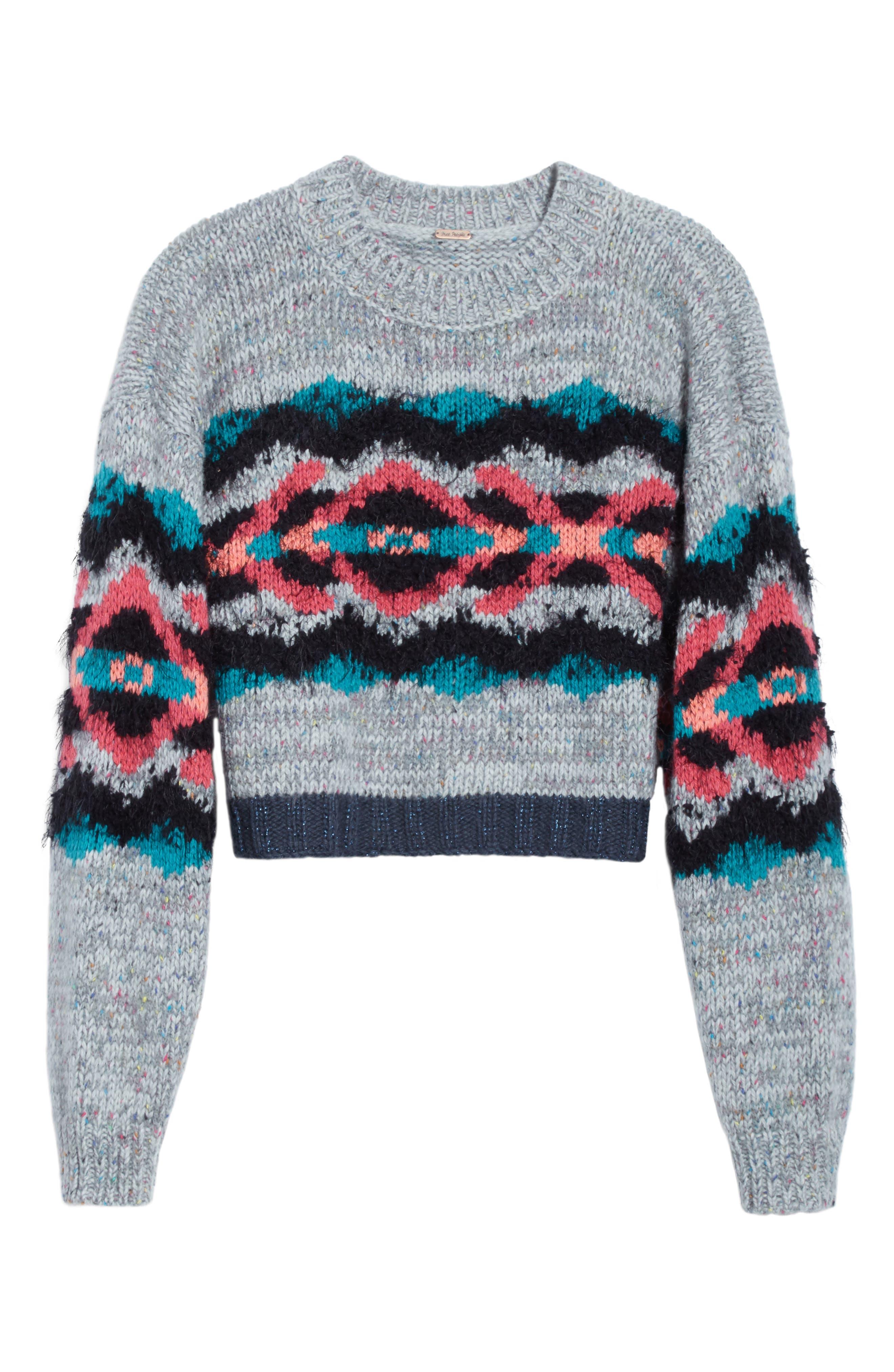 I Heart You Sweater,                             Alternate thumbnail 6, color,                             097