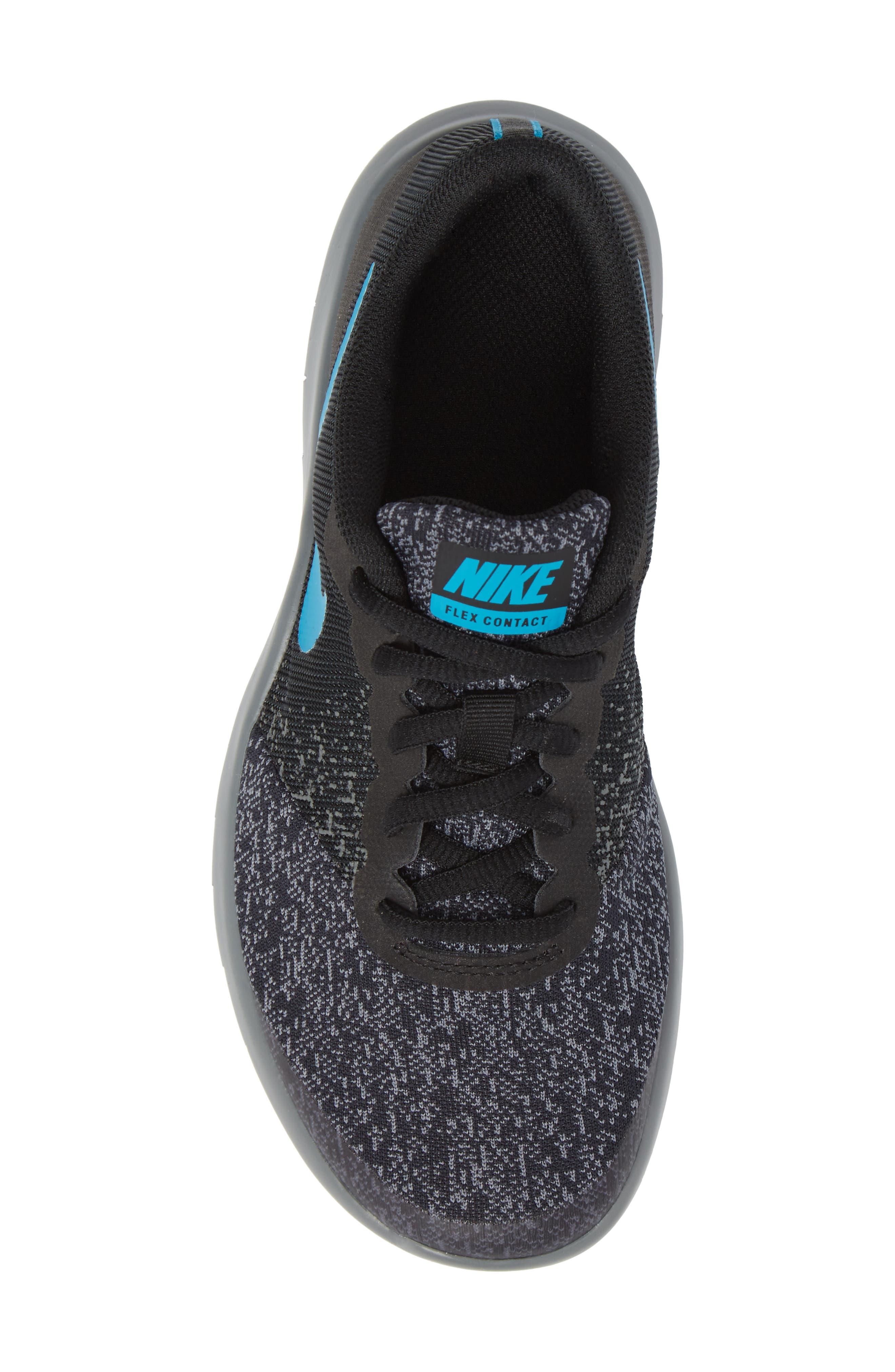 Flex Contact Running Shoe,                             Alternate thumbnail 5, color,                             007