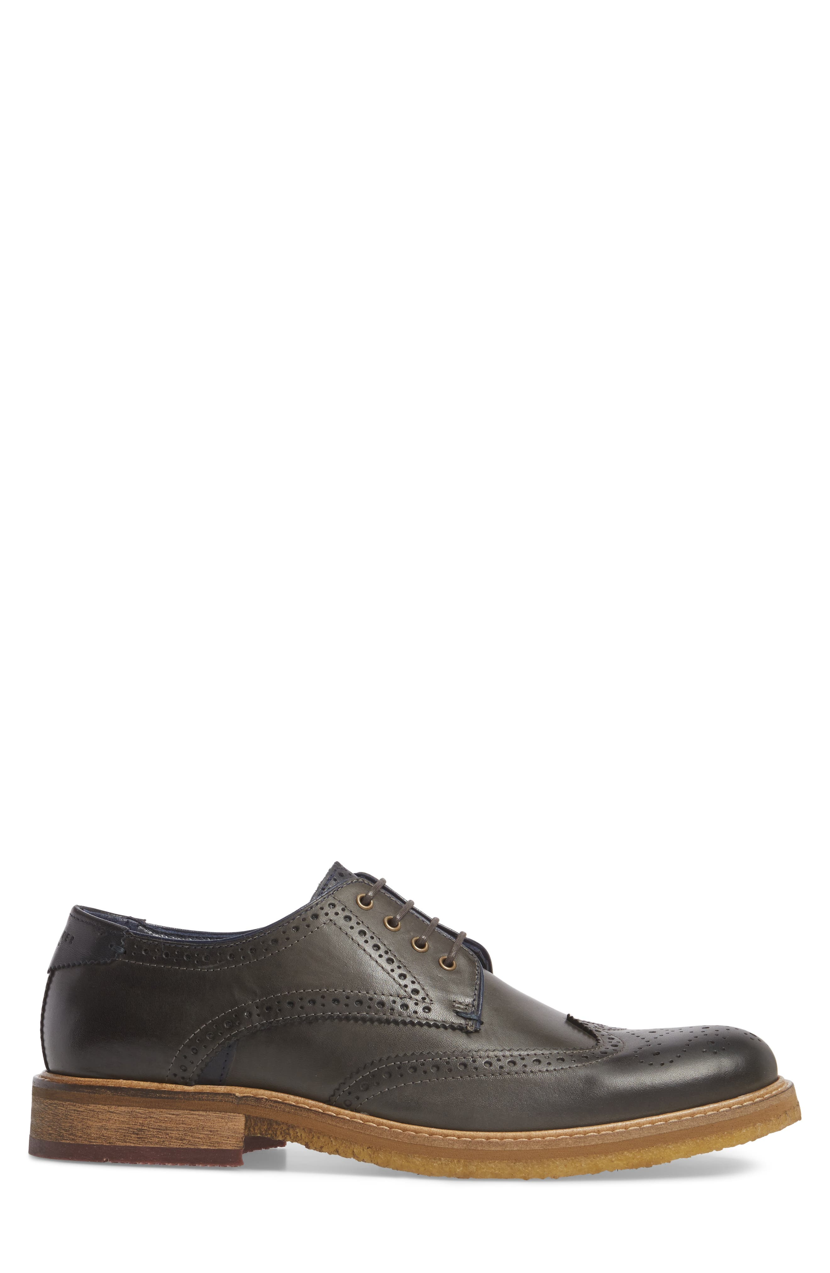 TED BAKER LONDON,                             Prycce Wingtip Derby,                             Alternate thumbnail 3, color,                             031