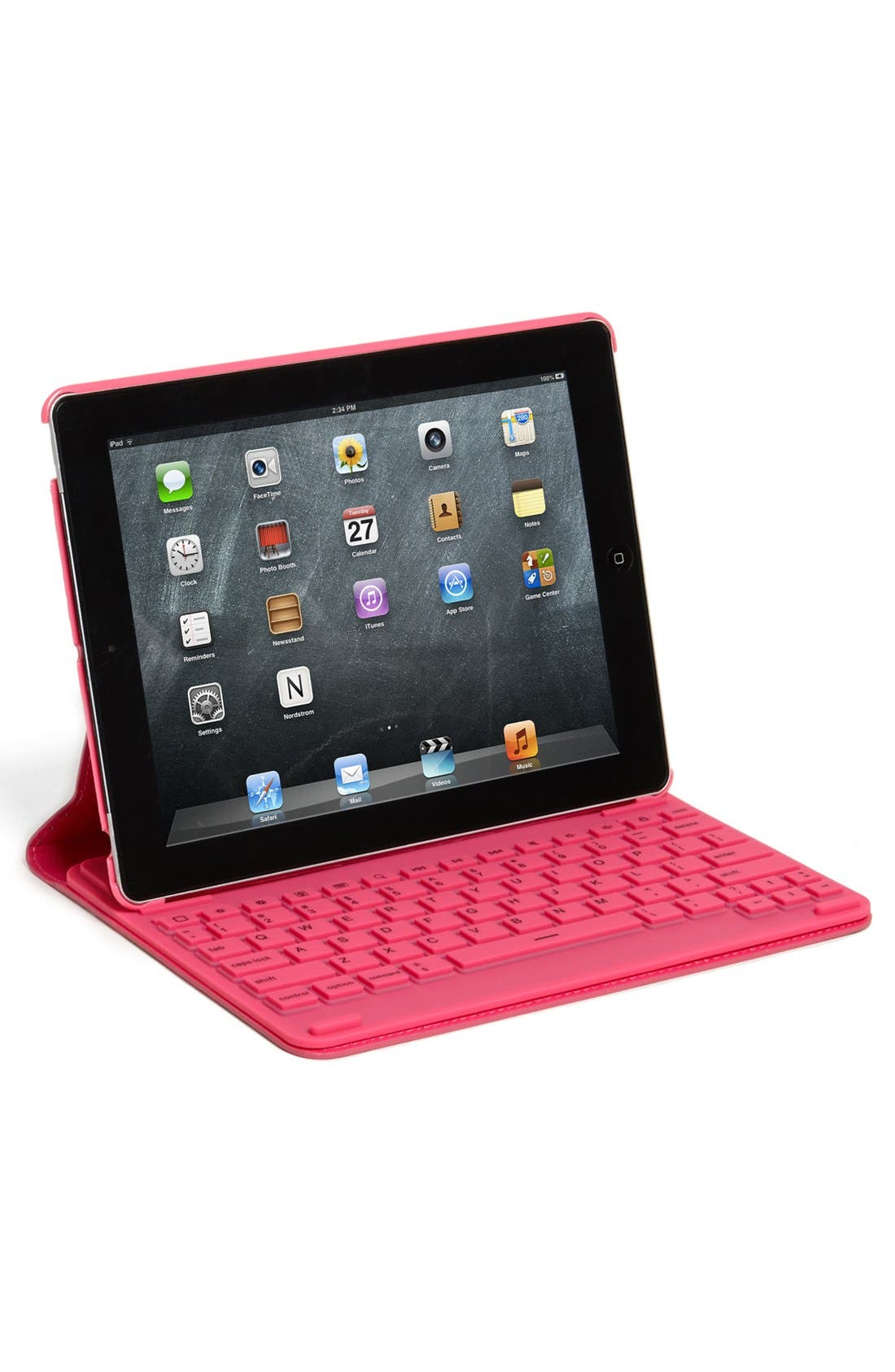 'First Impression' iPad Keyboard Case,                             Alternate thumbnail 4, color,                             440