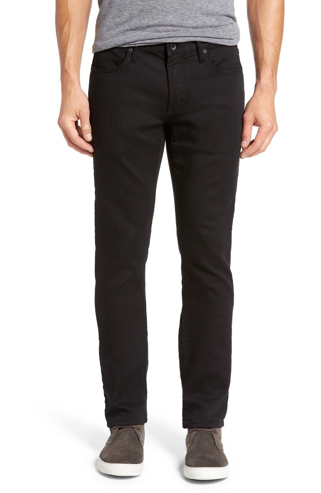 'Bowery' Slim Straight Leg Jeans,                         Main,                         color, 001