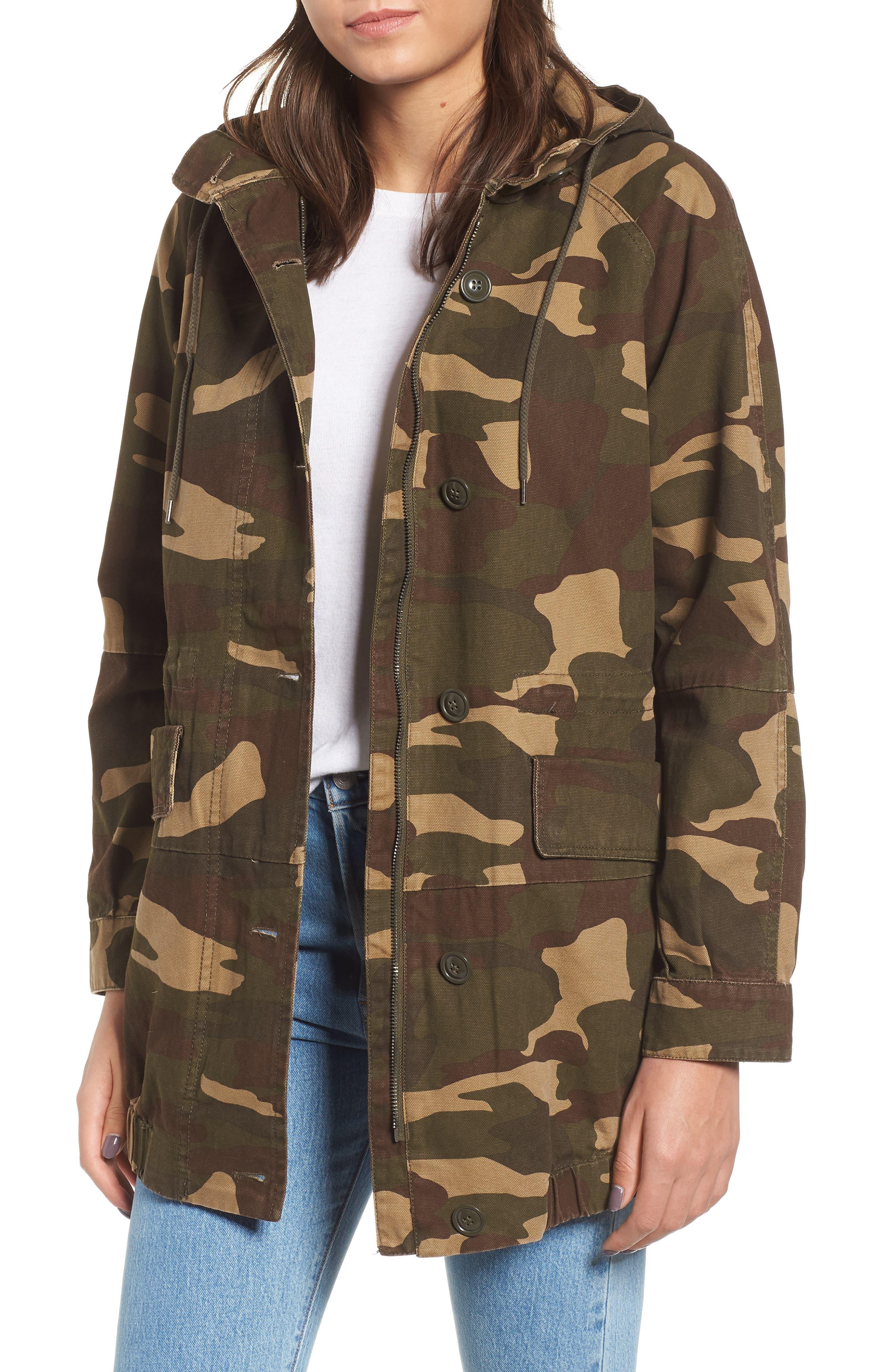 Longline Camo Coat by Levi's®