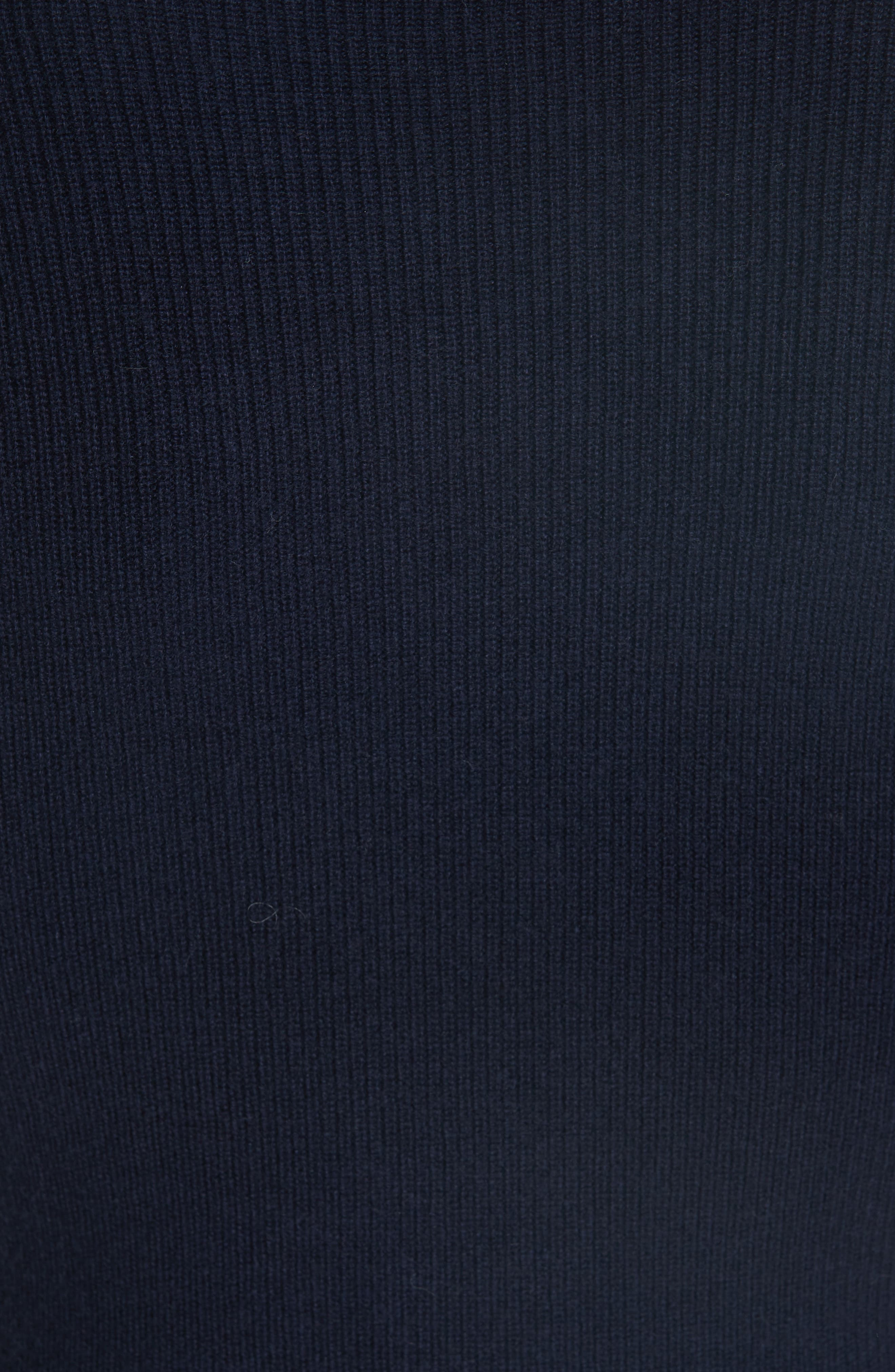 Bobbe Wool Blend Peplum Sweater,                             Alternate thumbnail 5, color,                             410