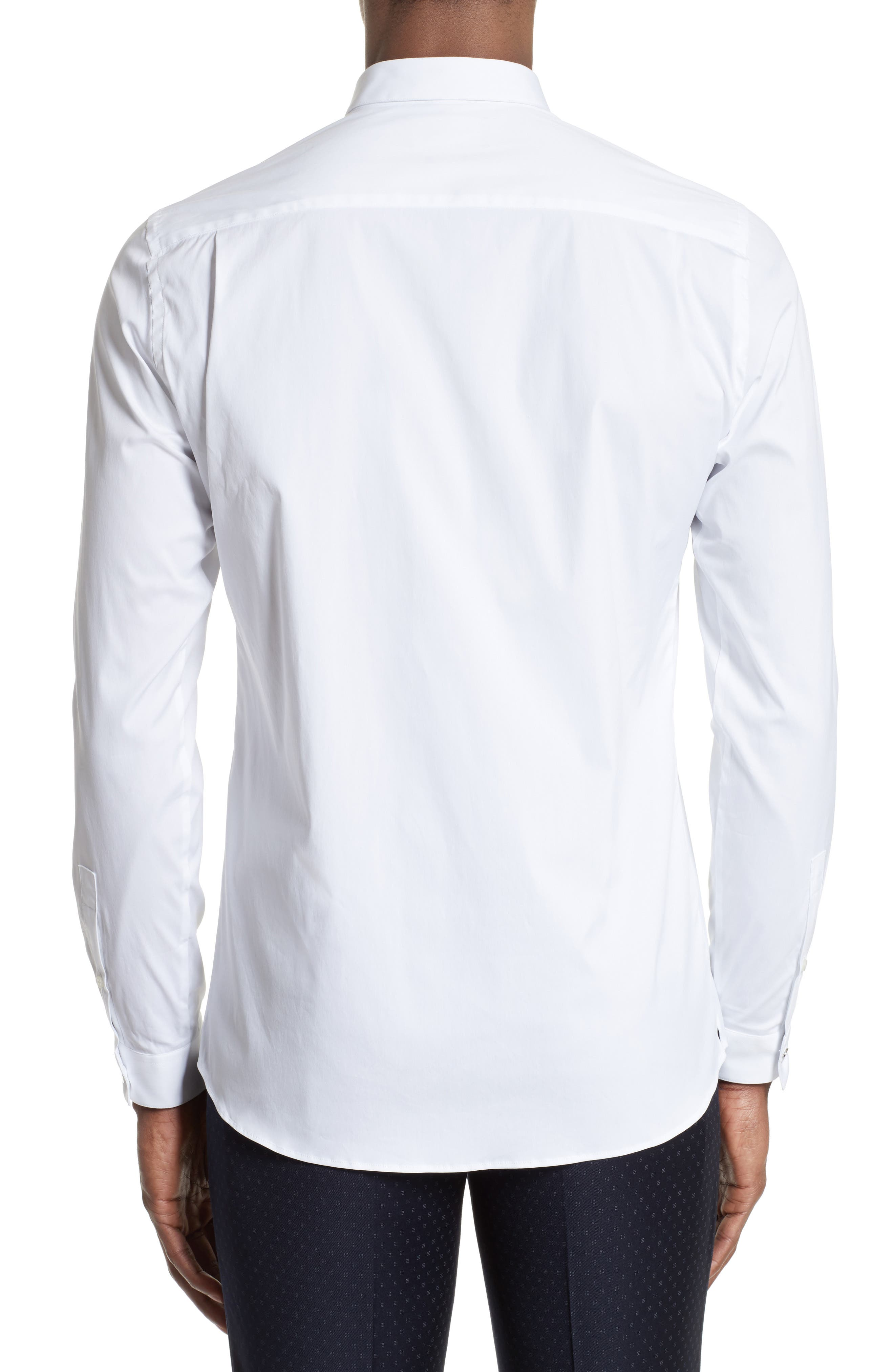 Embroidered Sport Shirt,                             Alternate thumbnail 3, color,                             100
