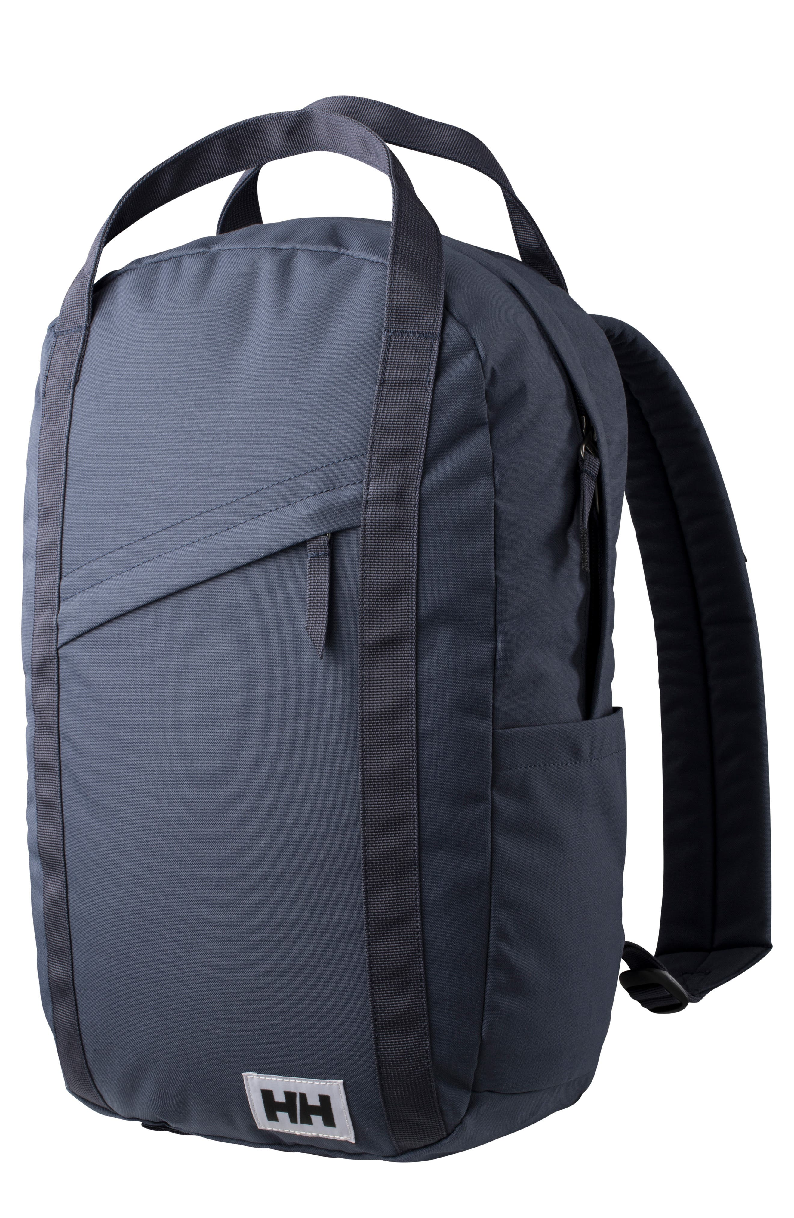 Oslo Backpack - Grey in Graphite Blue