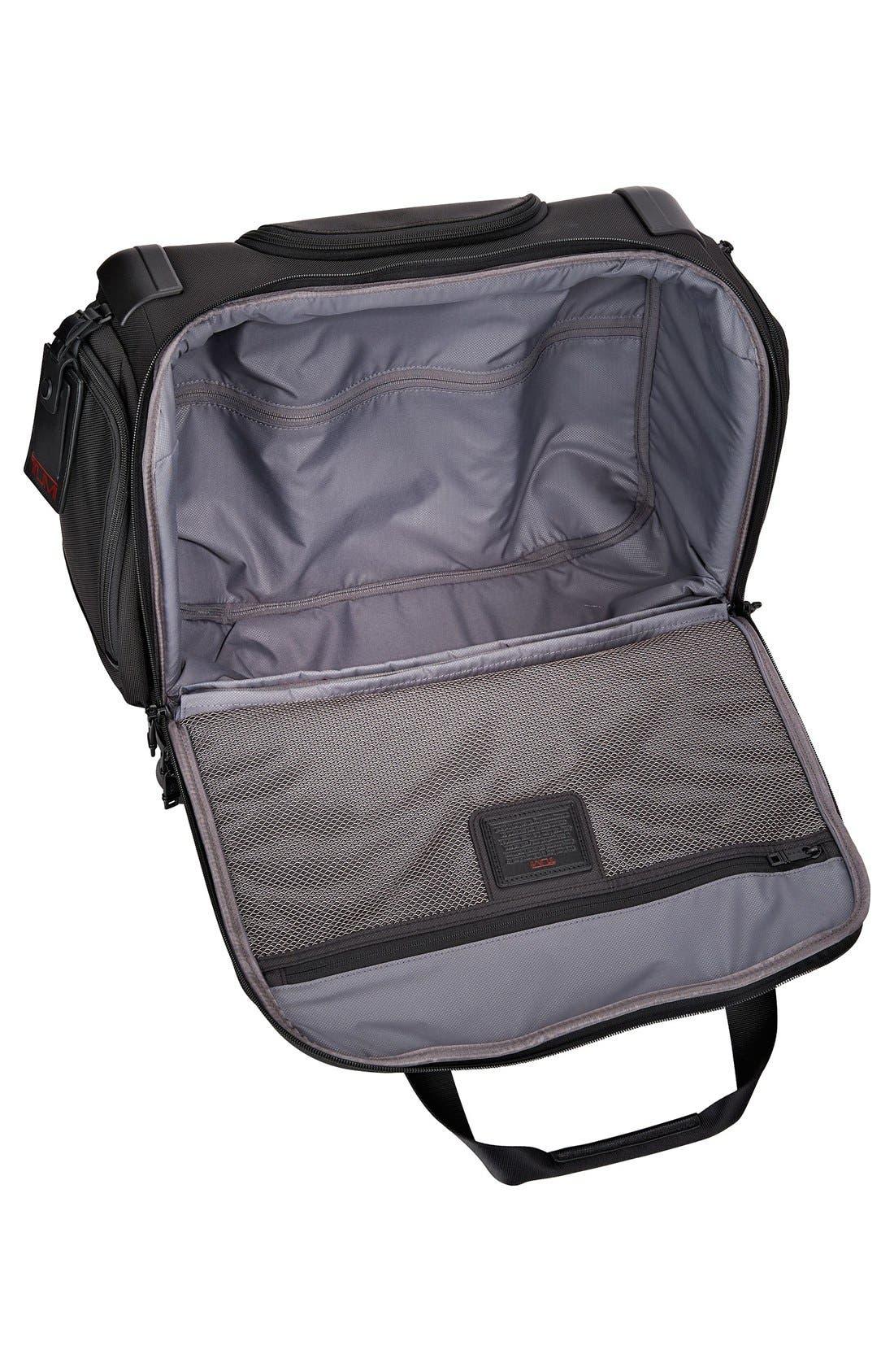 Alpha 2 20-Inch Wheeled Duffel Bag,                             Alternate thumbnail 5, color,                             BLACK