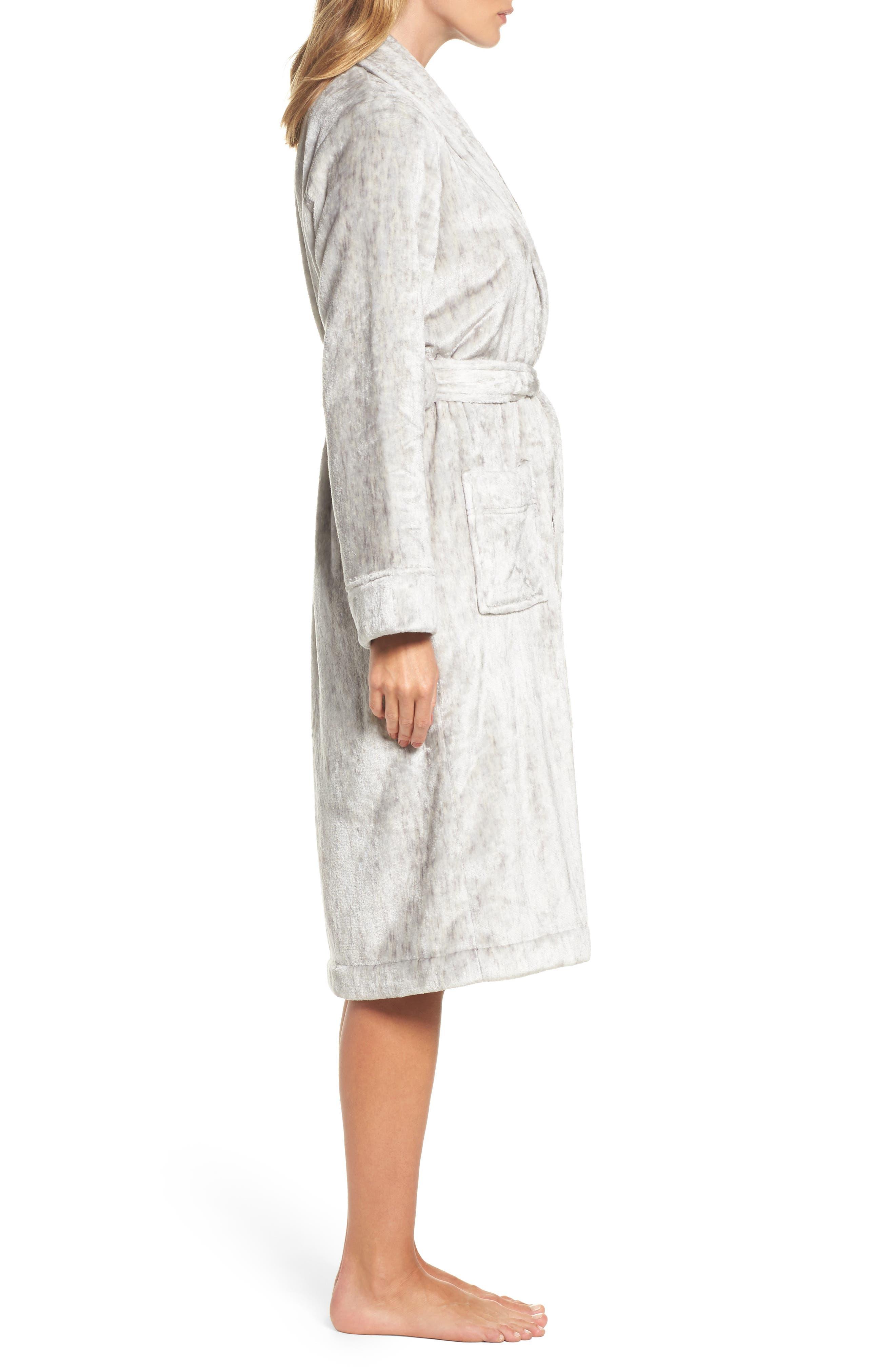 Nordstrom So Soft Plush Robe,                             Alternate thumbnail 7, color,