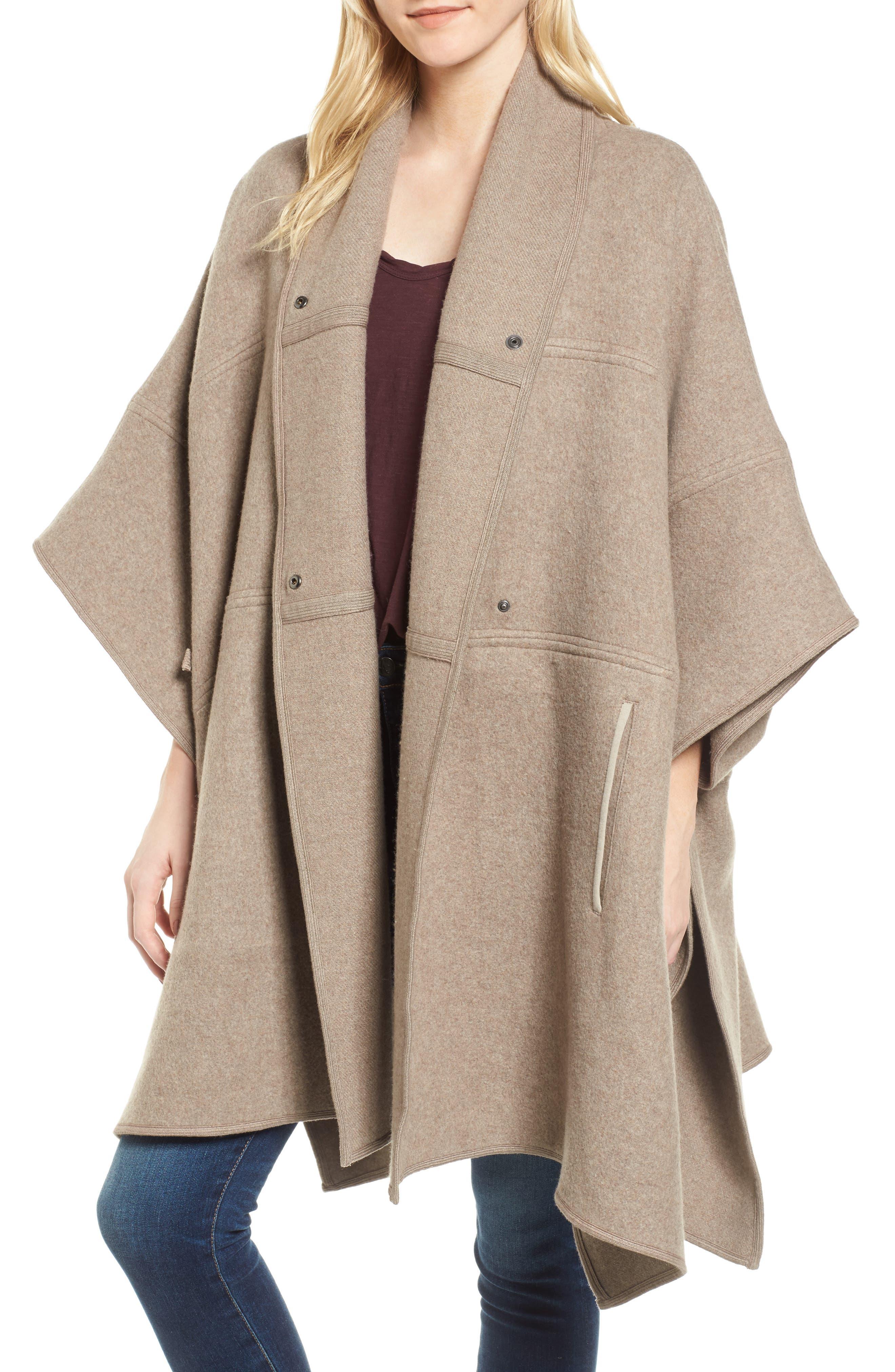 Nomad Blanket Coat,                             Alternate thumbnail 4, color,                             243