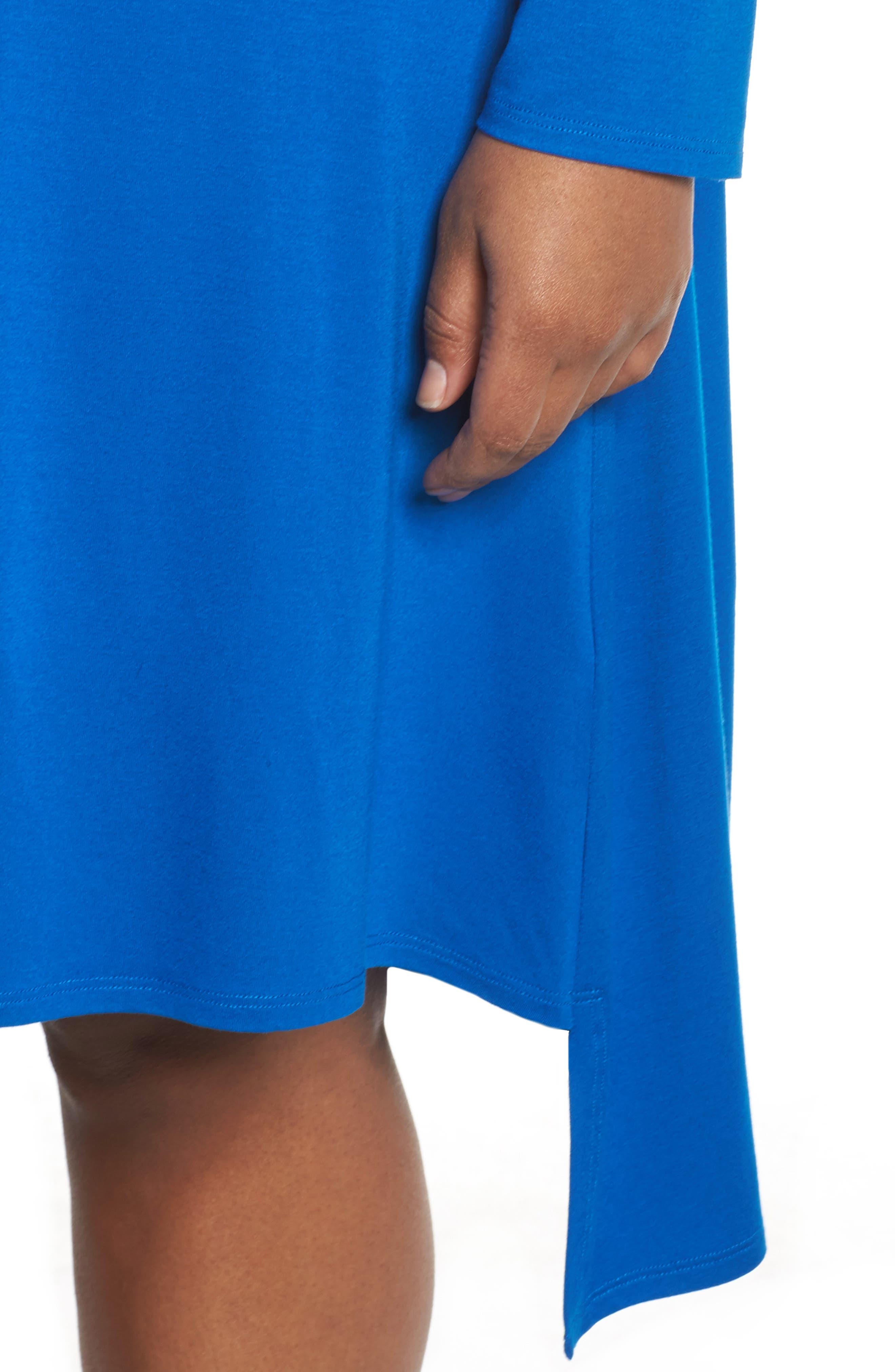 Jersey Tunic Dress,                             Alternate thumbnail 14, color,