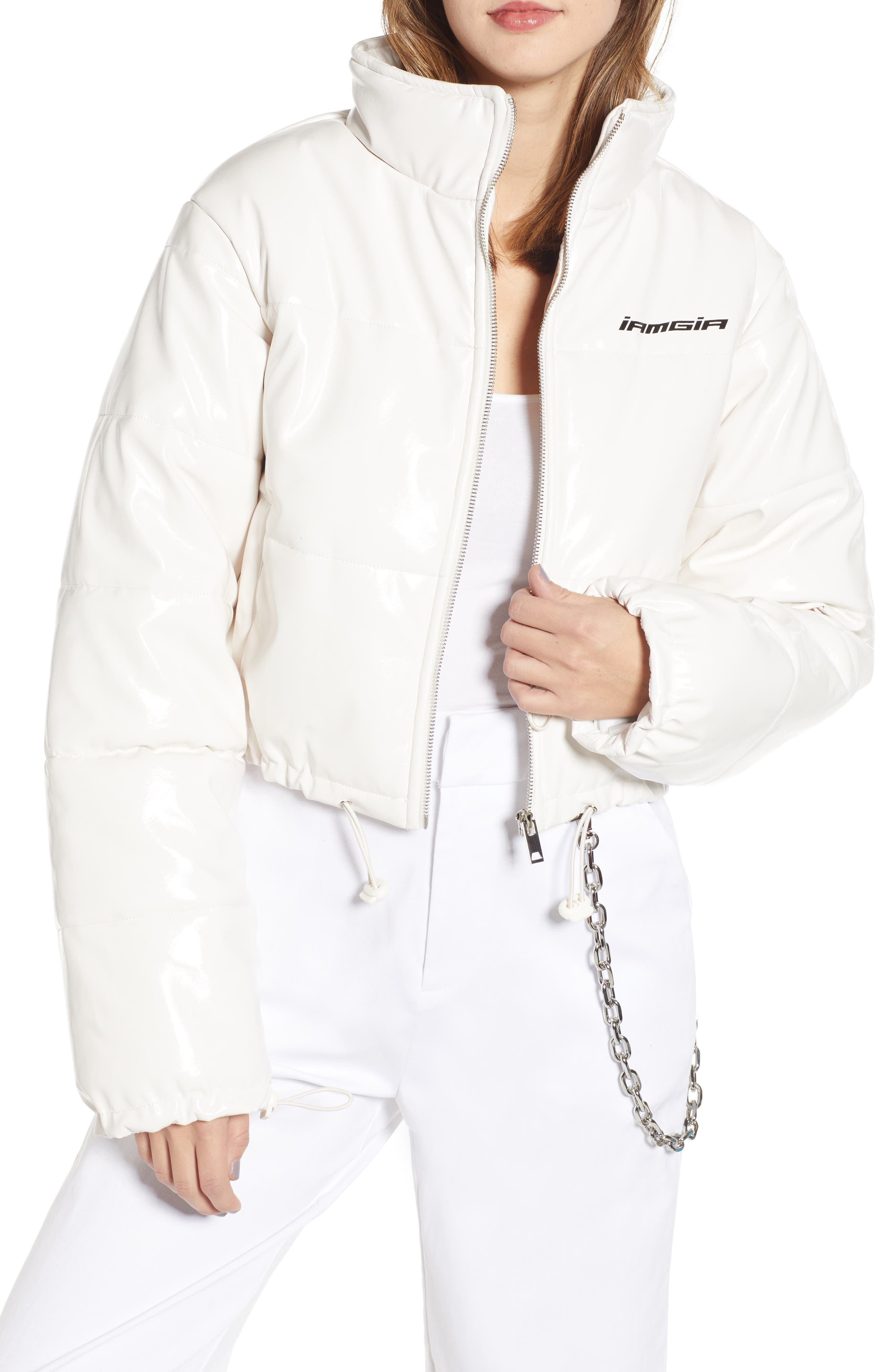 I.AM.GIA Road Warrior Jacket,                         Main,                         color, WHITE
