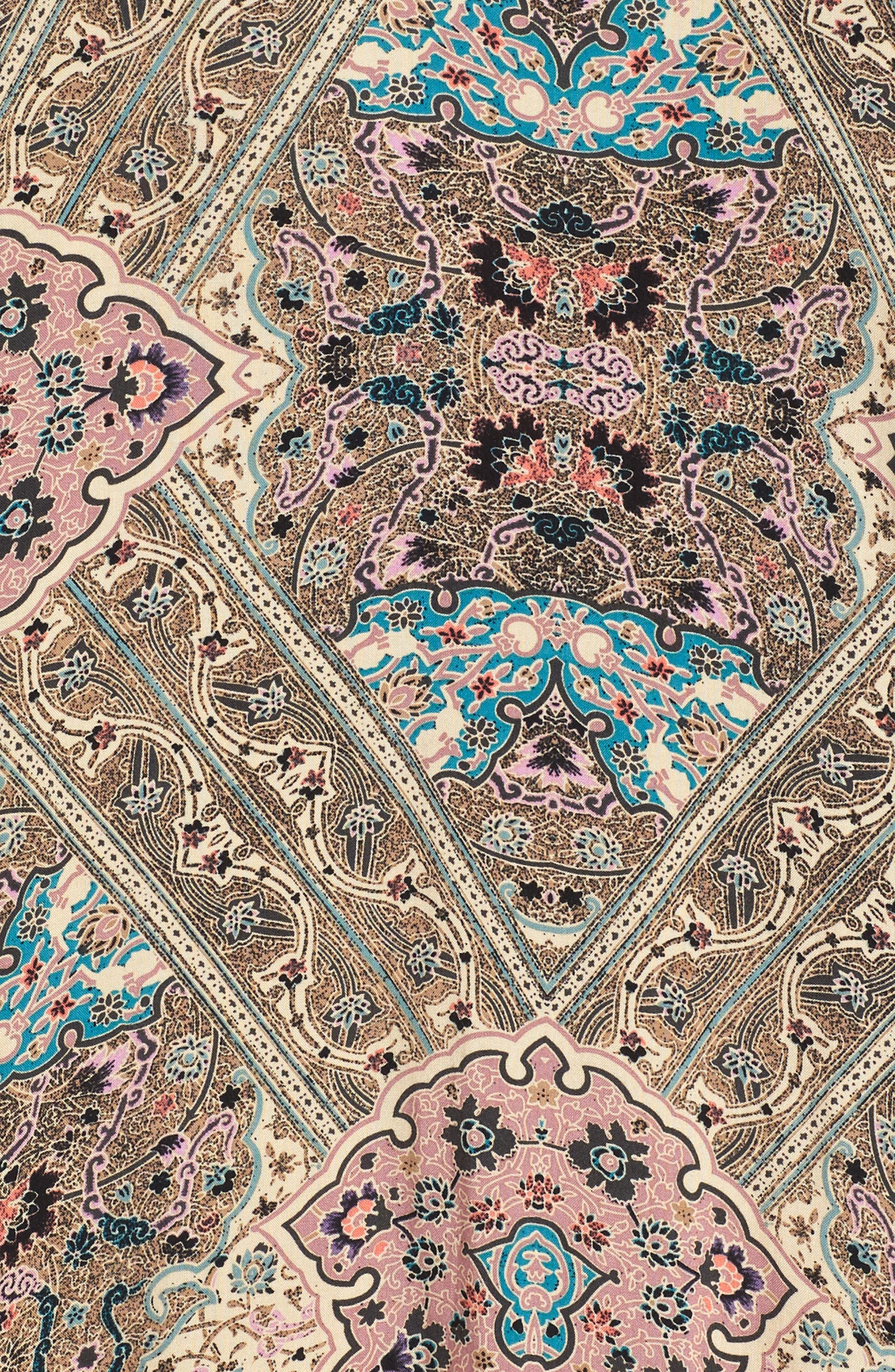 Samantha Print Dress,                             Alternate thumbnail 3, color,                             250