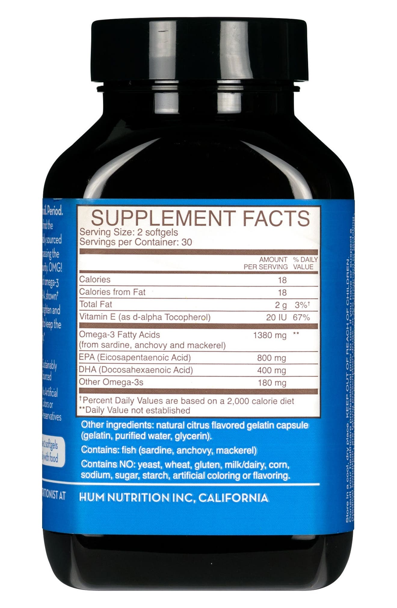 OMG! Omega the Great Fish Oil Supplement,                             Alternate thumbnail 4, color,                             NO COLOR