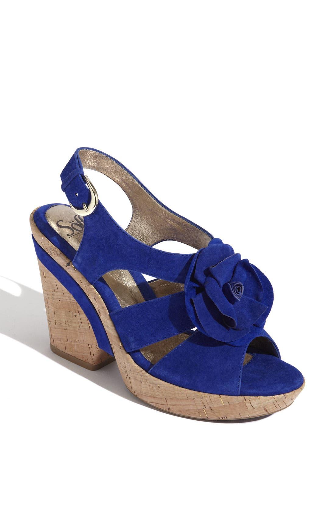 'Odelle' Sandal,                             Main thumbnail 2, color,