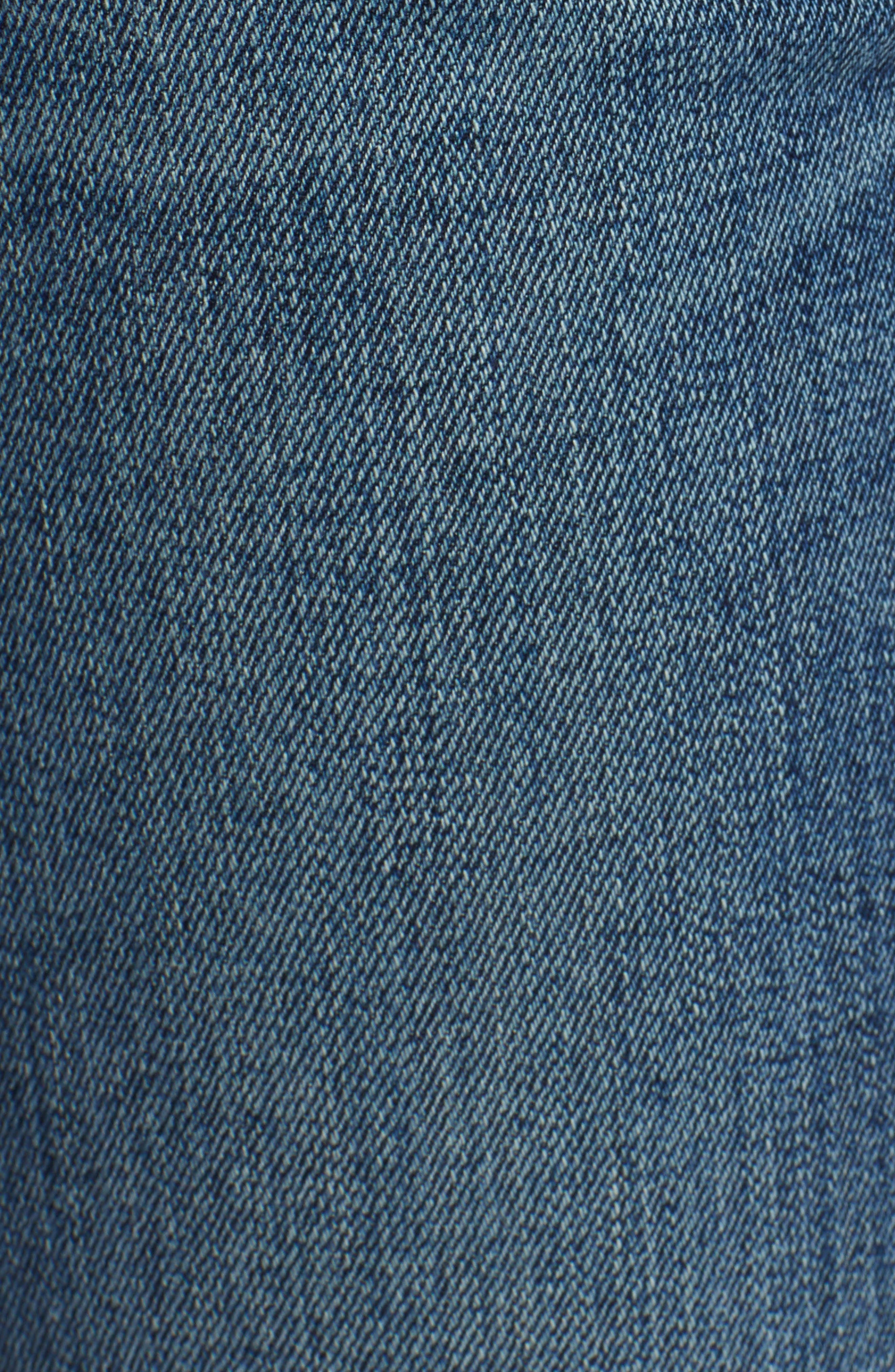 Tally Unfamed Hem Skinny Jeans,                             Alternate thumbnail 21, color,