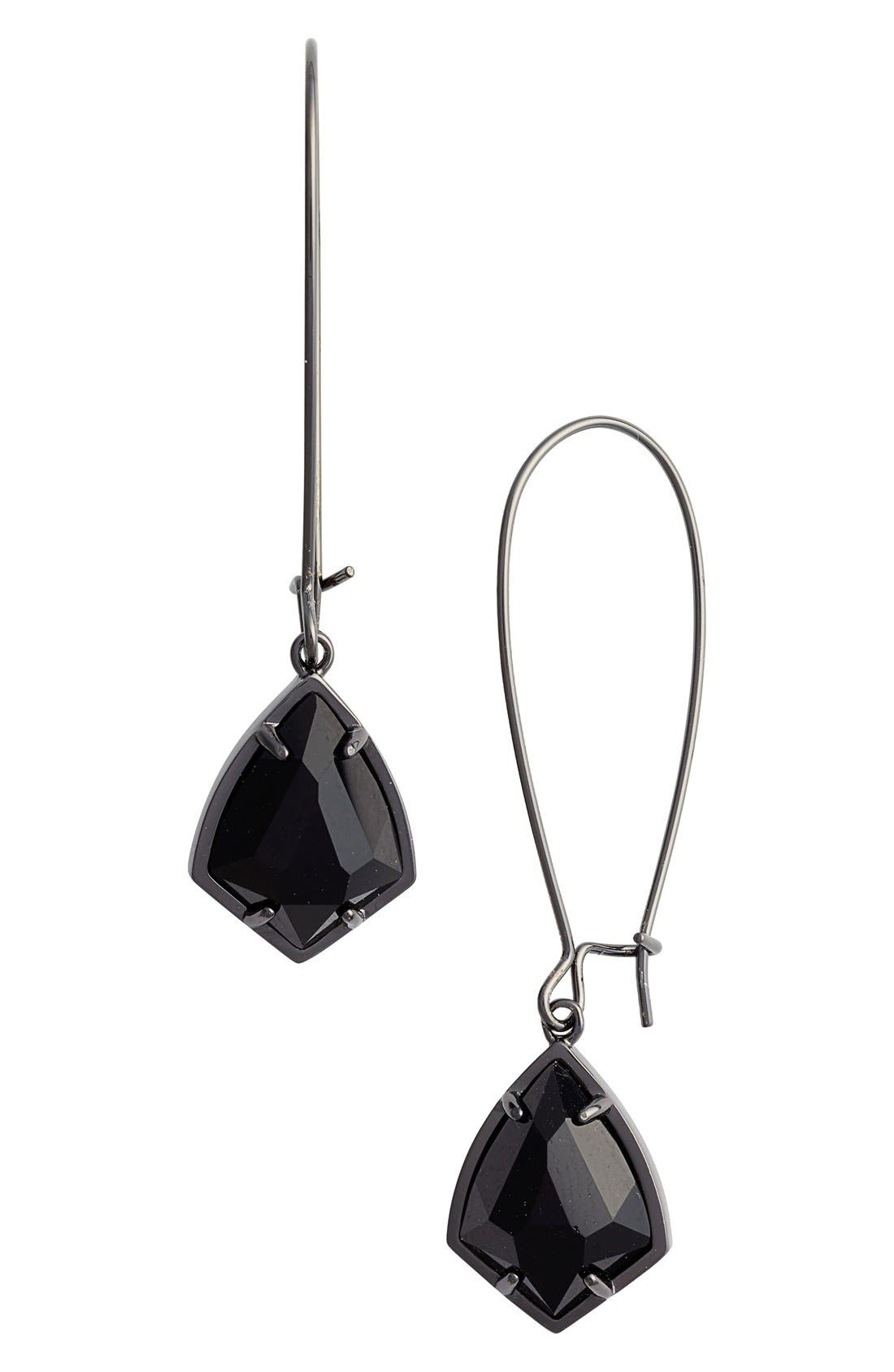 'Carrine' Semiprecious Stone Drop Earrings,                             Main thumbnail 3, color,