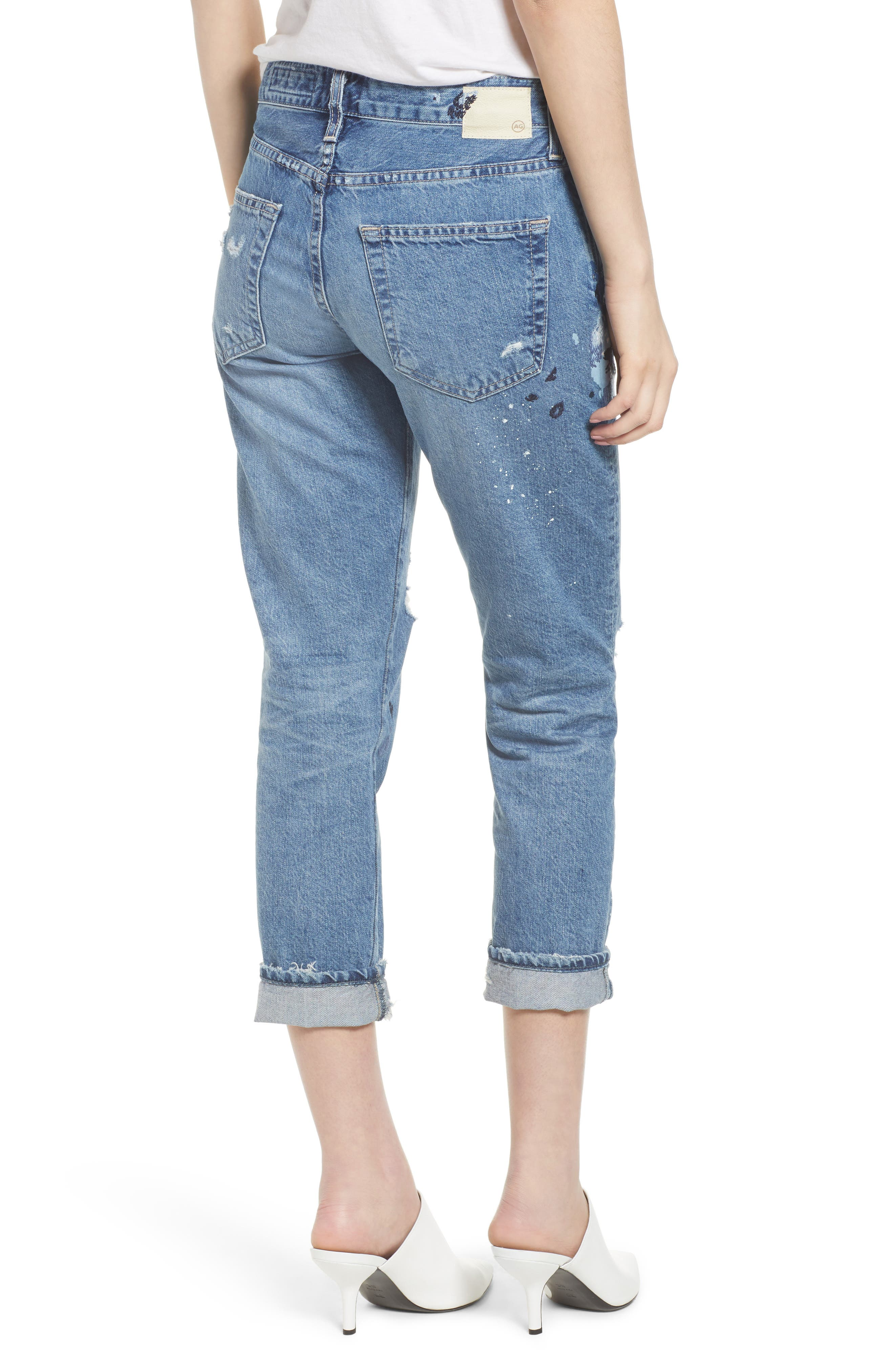 AG,                             The Ex-Boyfriend Slim Jeans,                             Alternate thumbnail 2, color,                             427