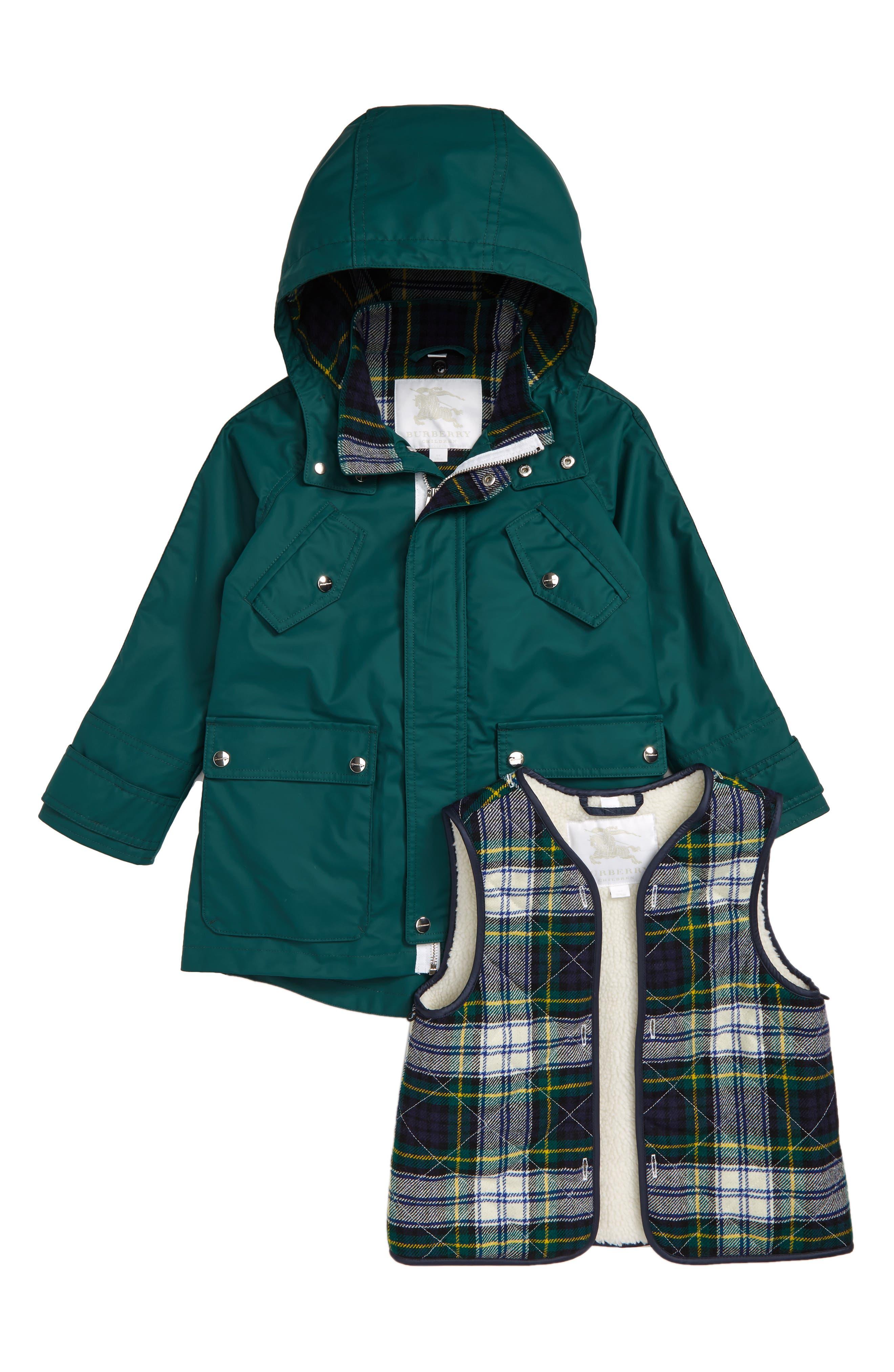Liam Hooded Coat,                             Alternate thumbnail 2, color,                             301