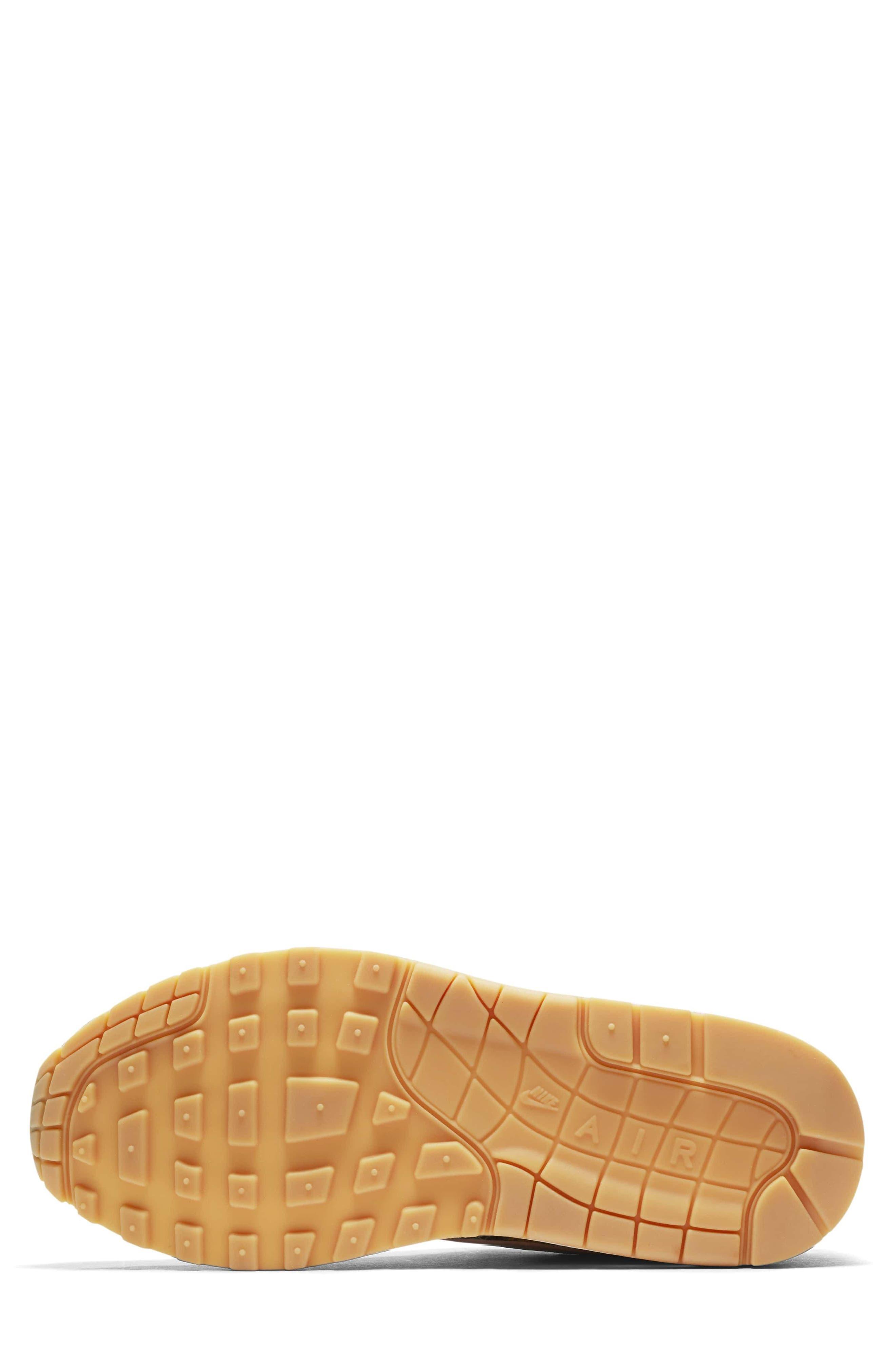 Air Max 1 QS Sneaker,                             Alternate thumbnail 5, color,                             003