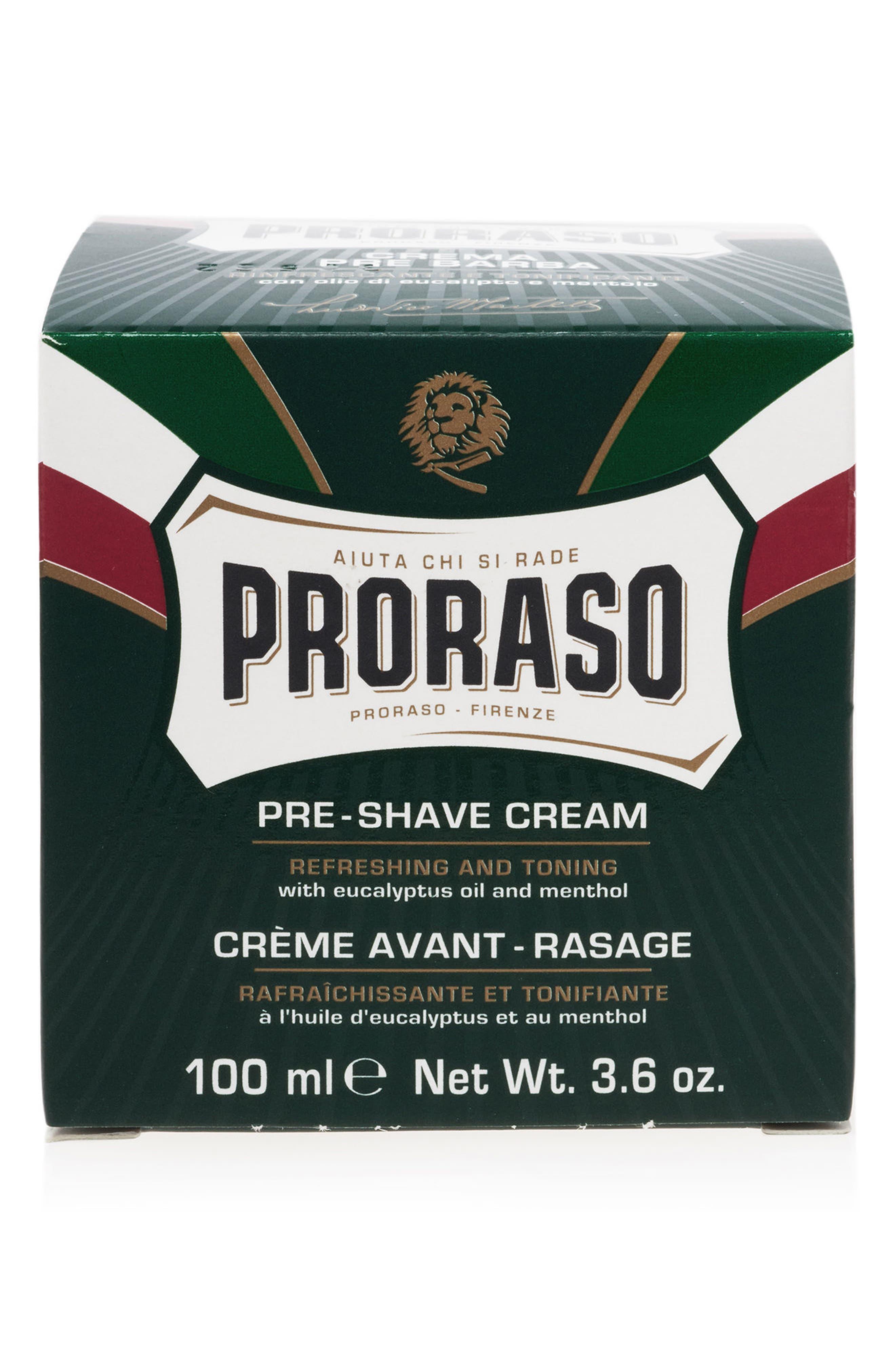'Proraso' Refresh Pre-Shave Cream,                             Alternate thumbnail 2, color,                             000