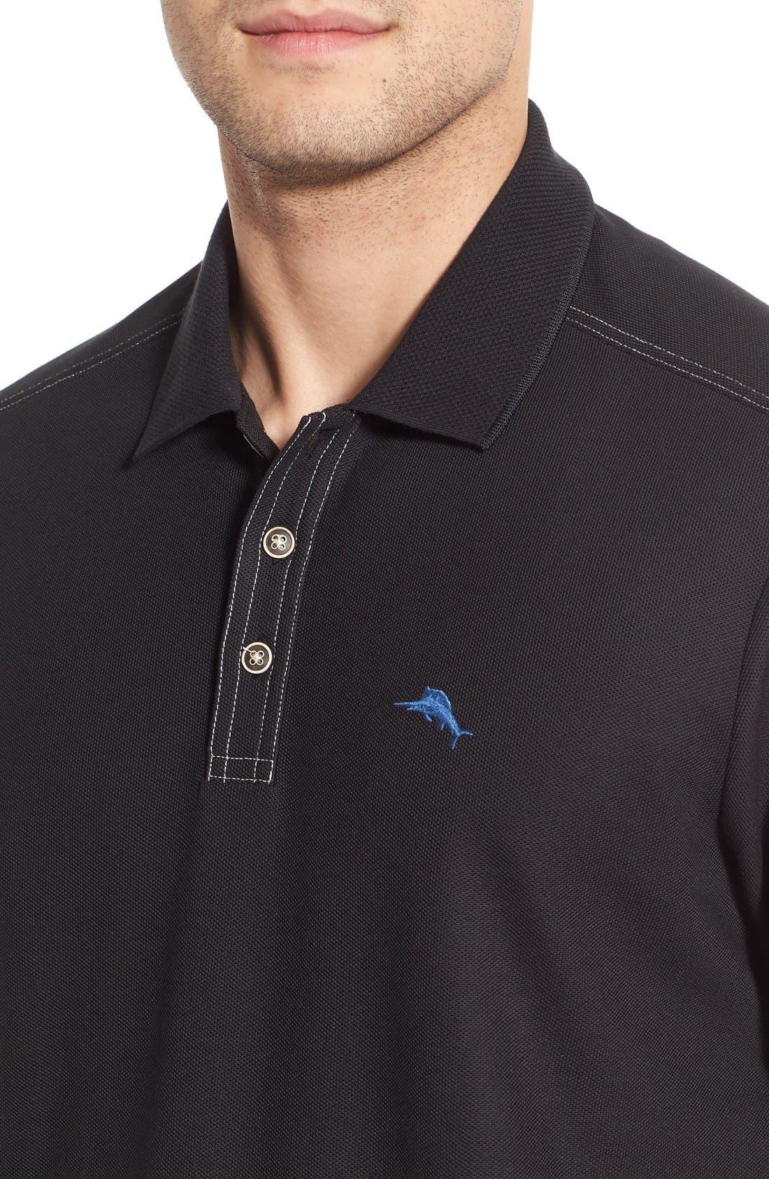 Emfielder Long Sleeve Polo,                             Alternate thumbnail 40, color,