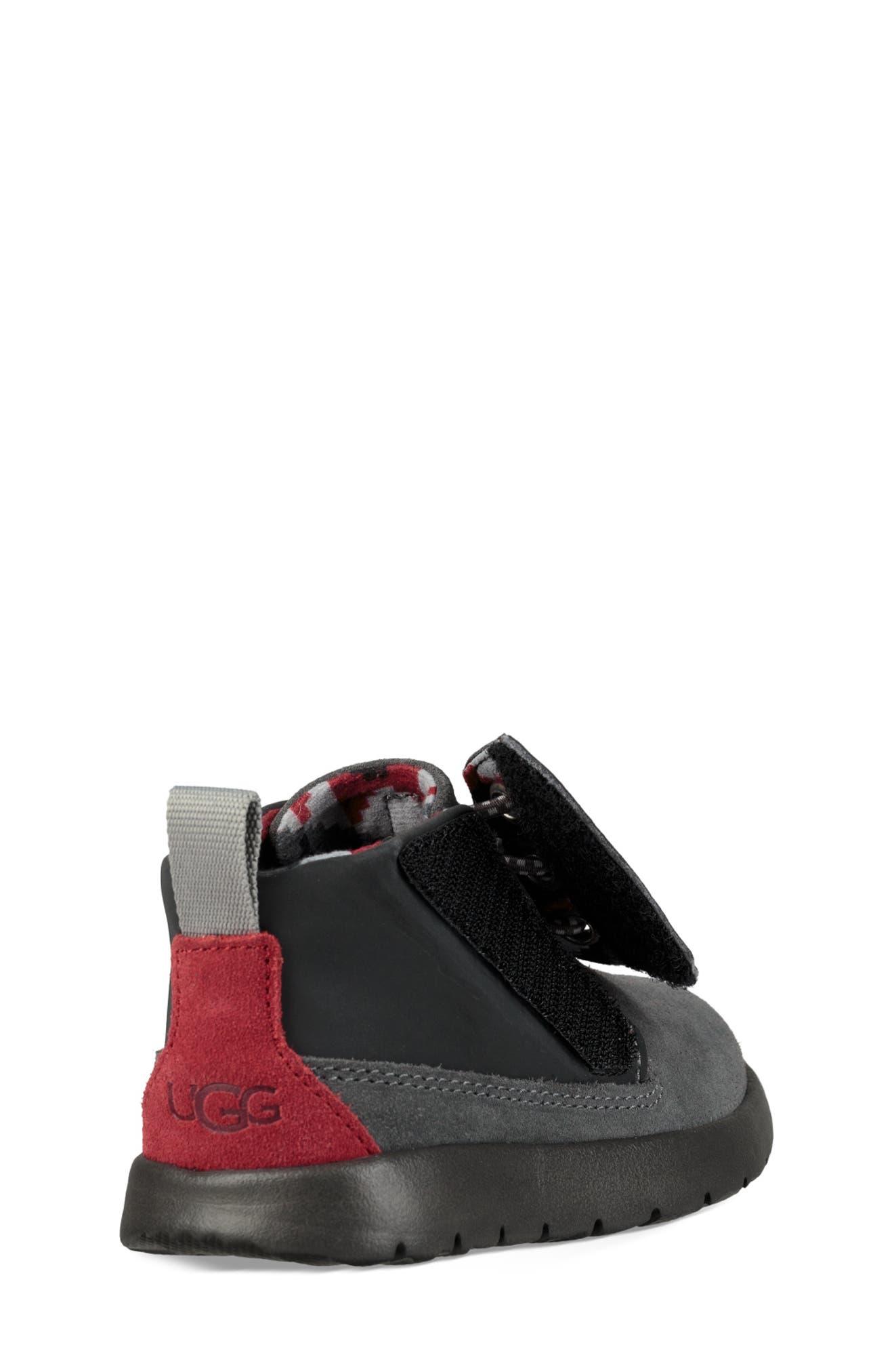 Canoe Chukka Sneaker,                             Alternate thumbnail 2, color,                             GREY / BLACK