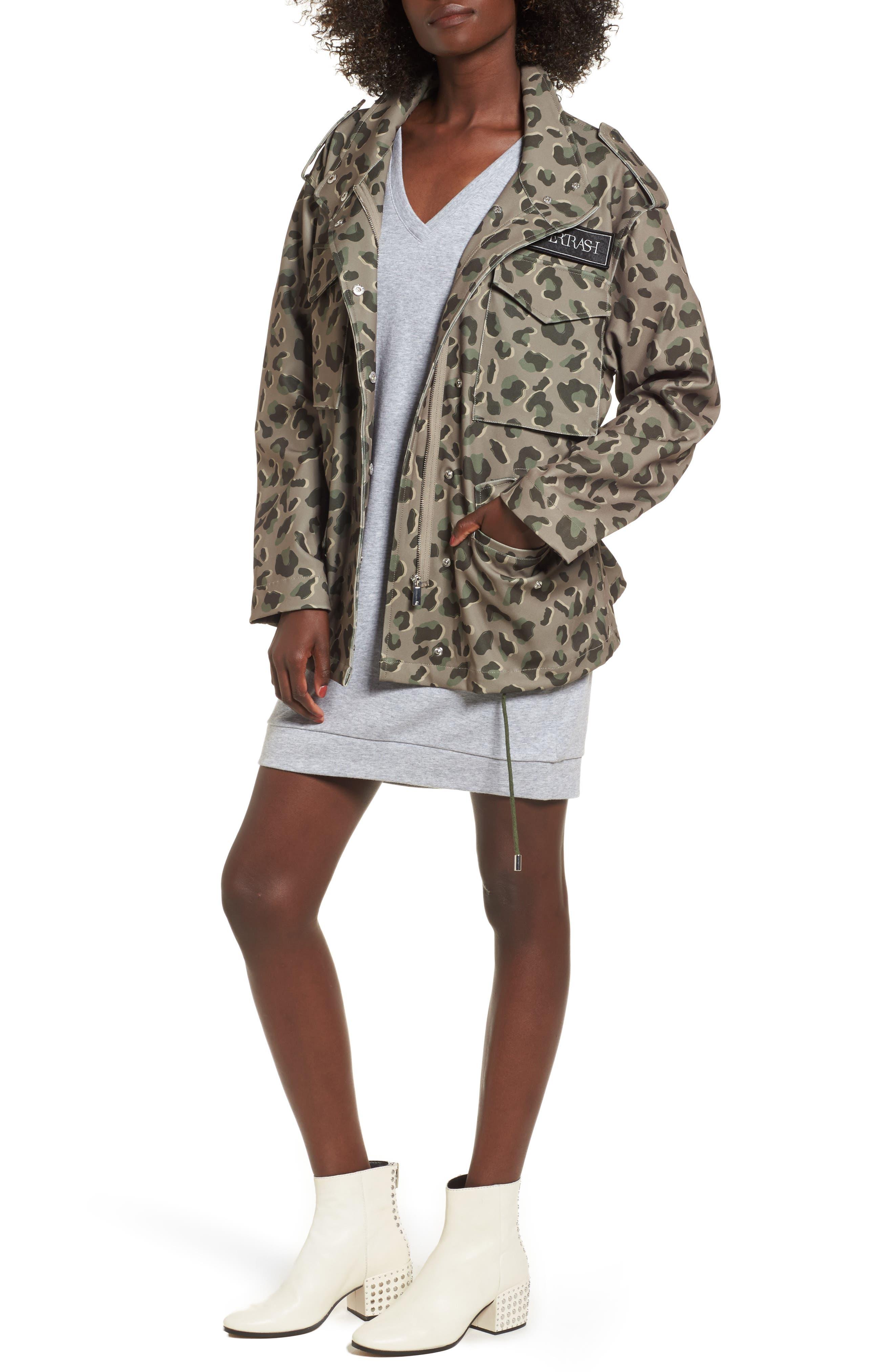 Osy Camo Print Jacket,                         Main,                         color, 301